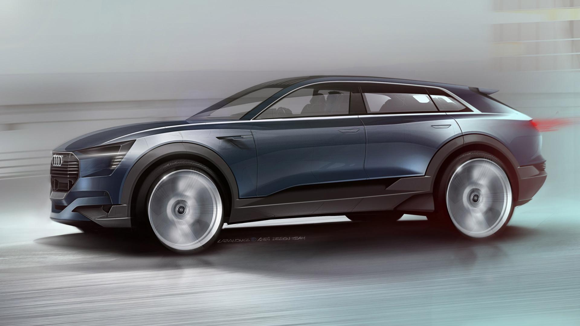 Audi e-tron quattro concept, 2015 Frankfurt Auto Show