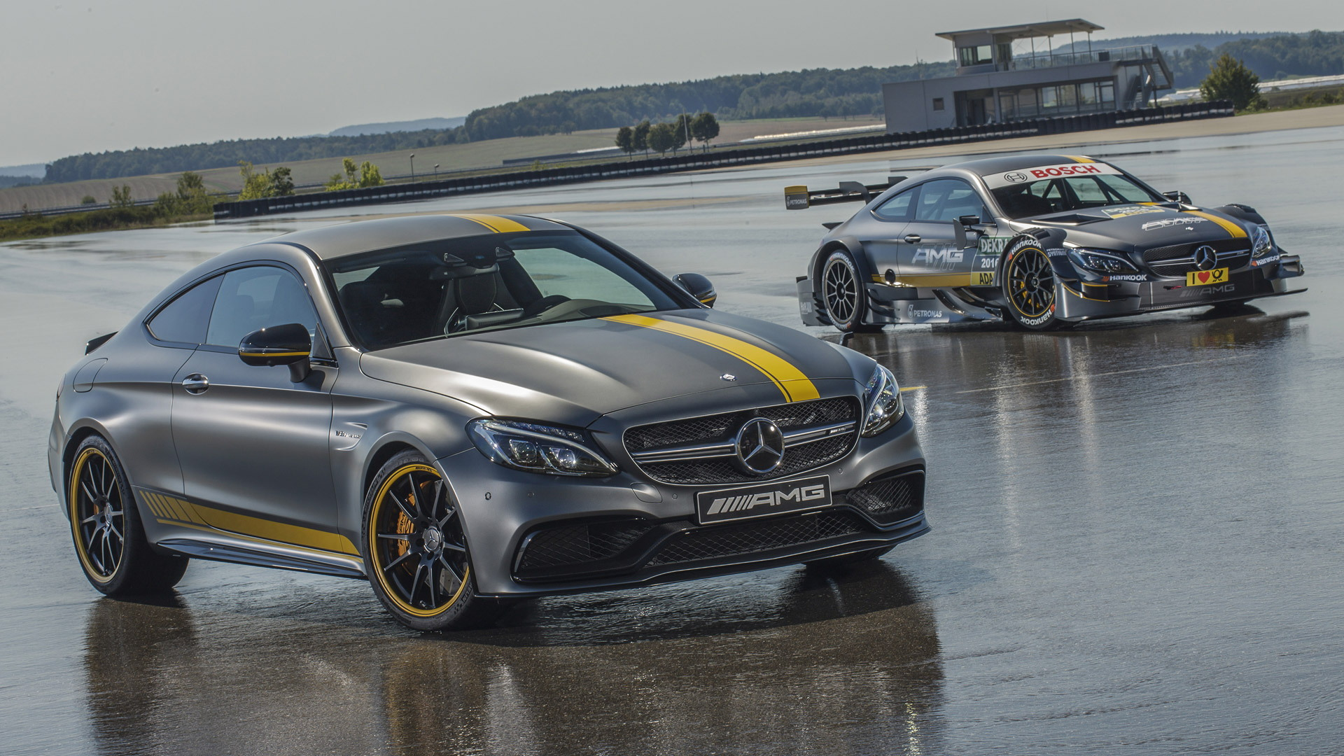 2017 mercedes amg c63 coupe edition 1 and 2016 c63 dtm racer revealed. Black Bedroom Furniture Sets. Home Design Ideas