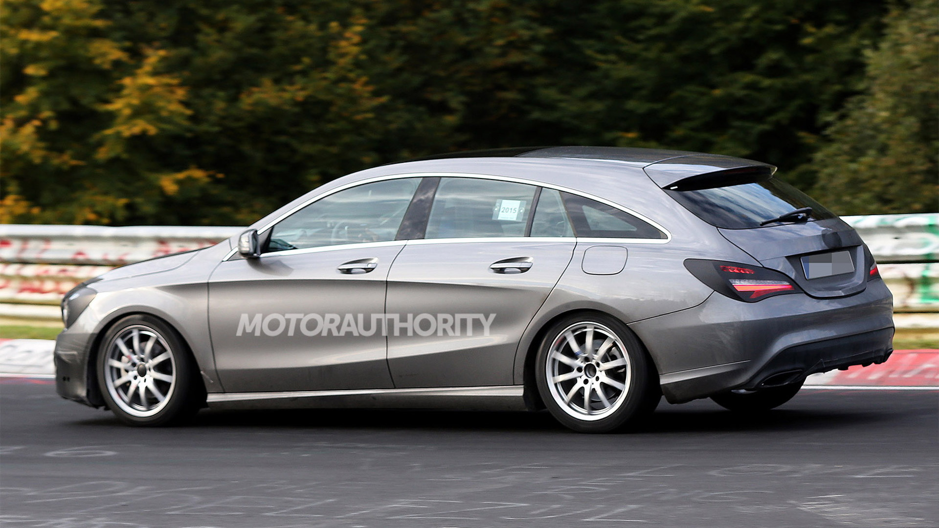 2016 Mercedes-Benz CLA Shooting Brake facelift - Image via S. Baldauf/SB-Medien