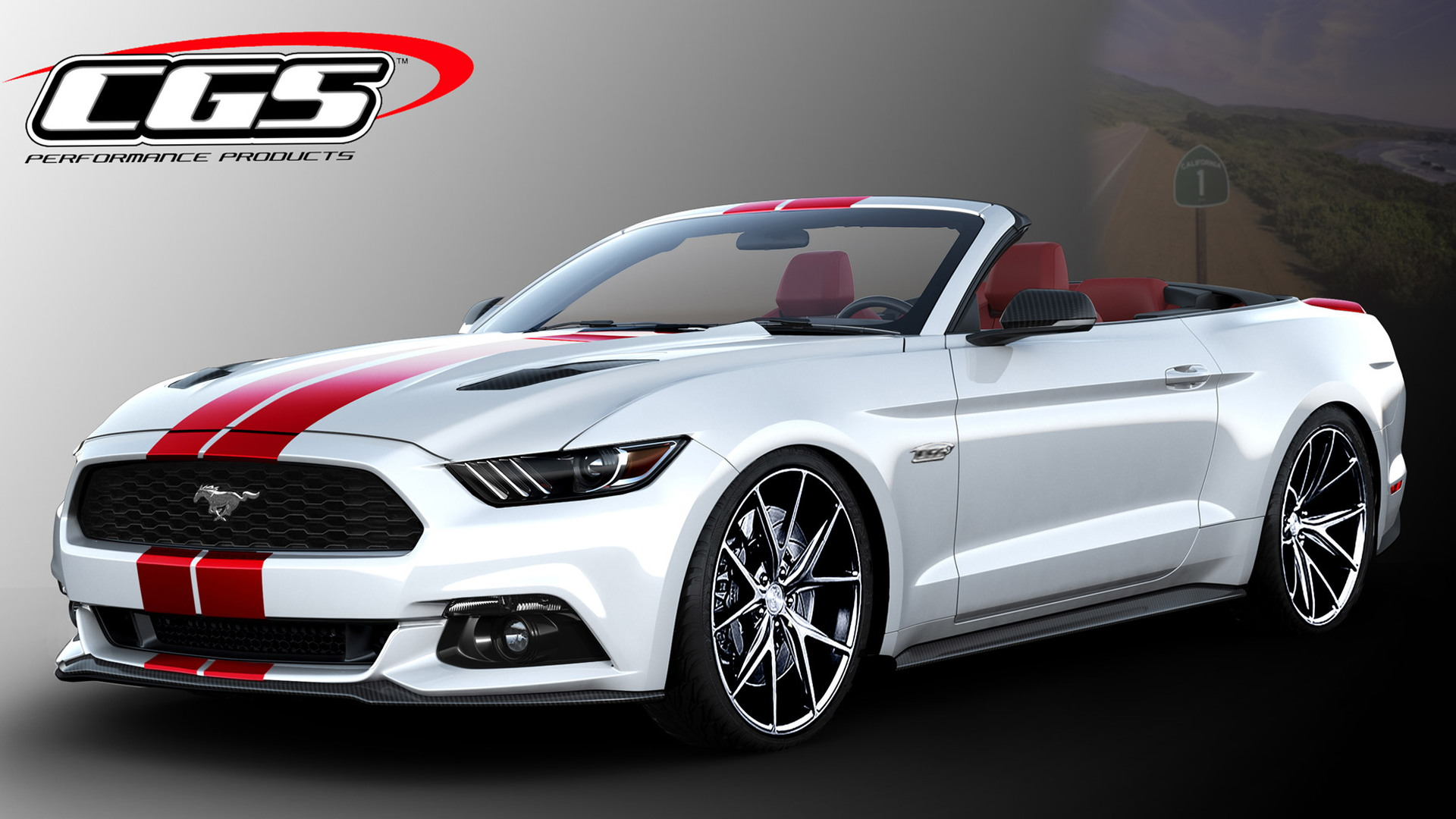 2016 Ford Mustang by CGS, 2015 SEMA show