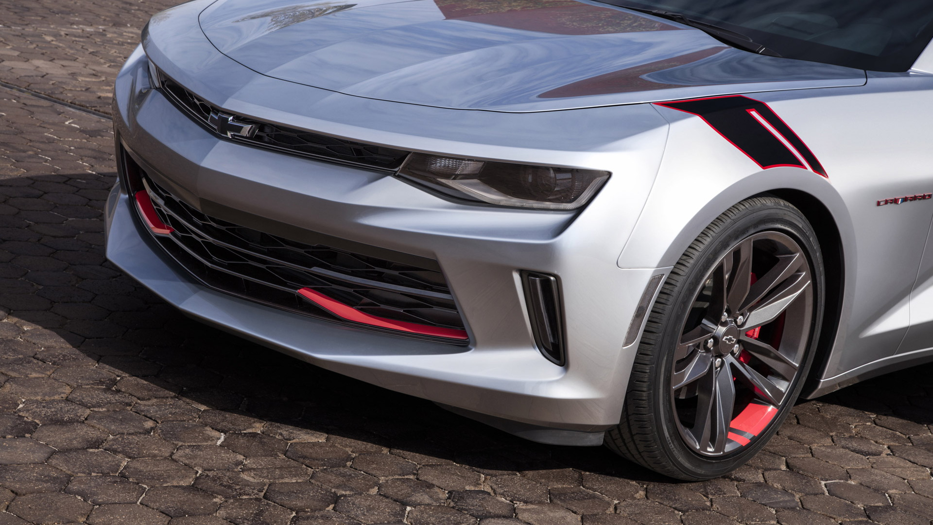 Chevrolet Camaro Red Line Series concept, 2015 SEMA show
