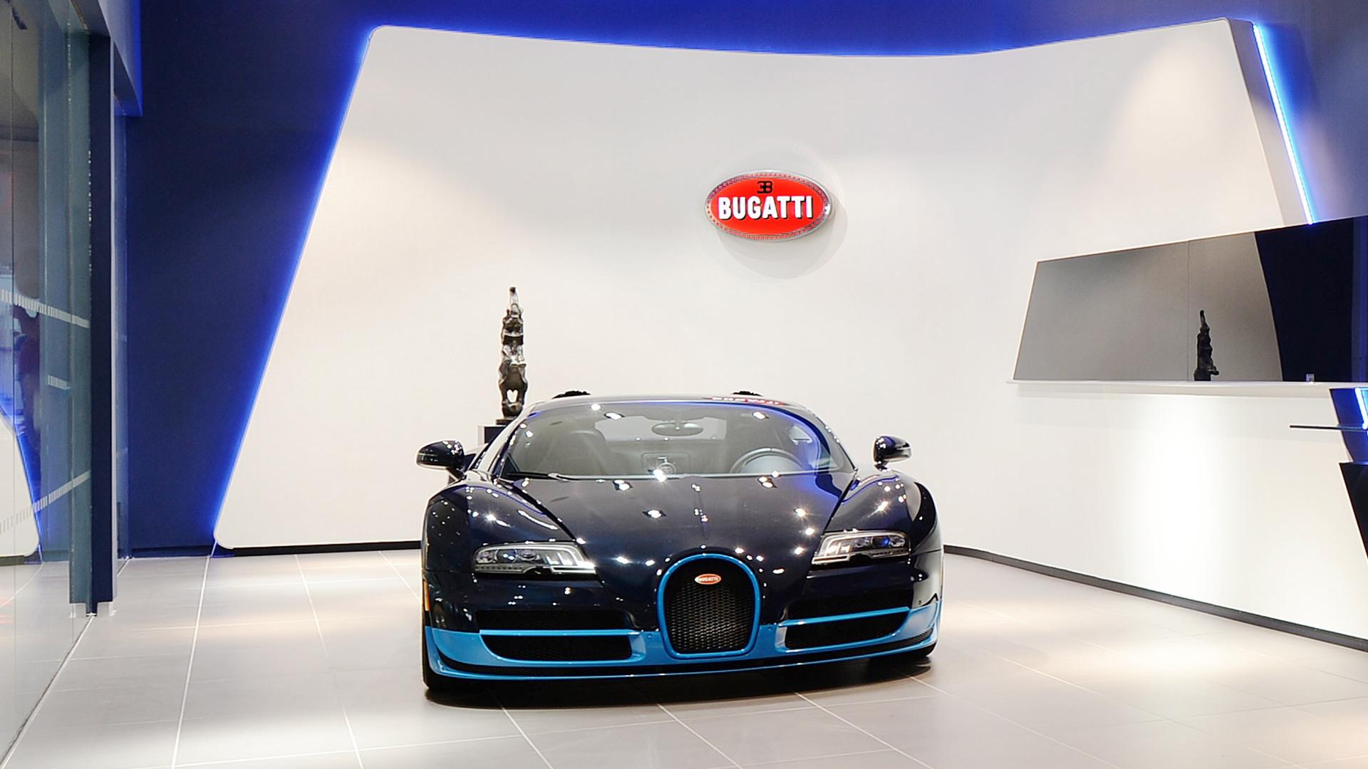 Bugatti showroom in New York City