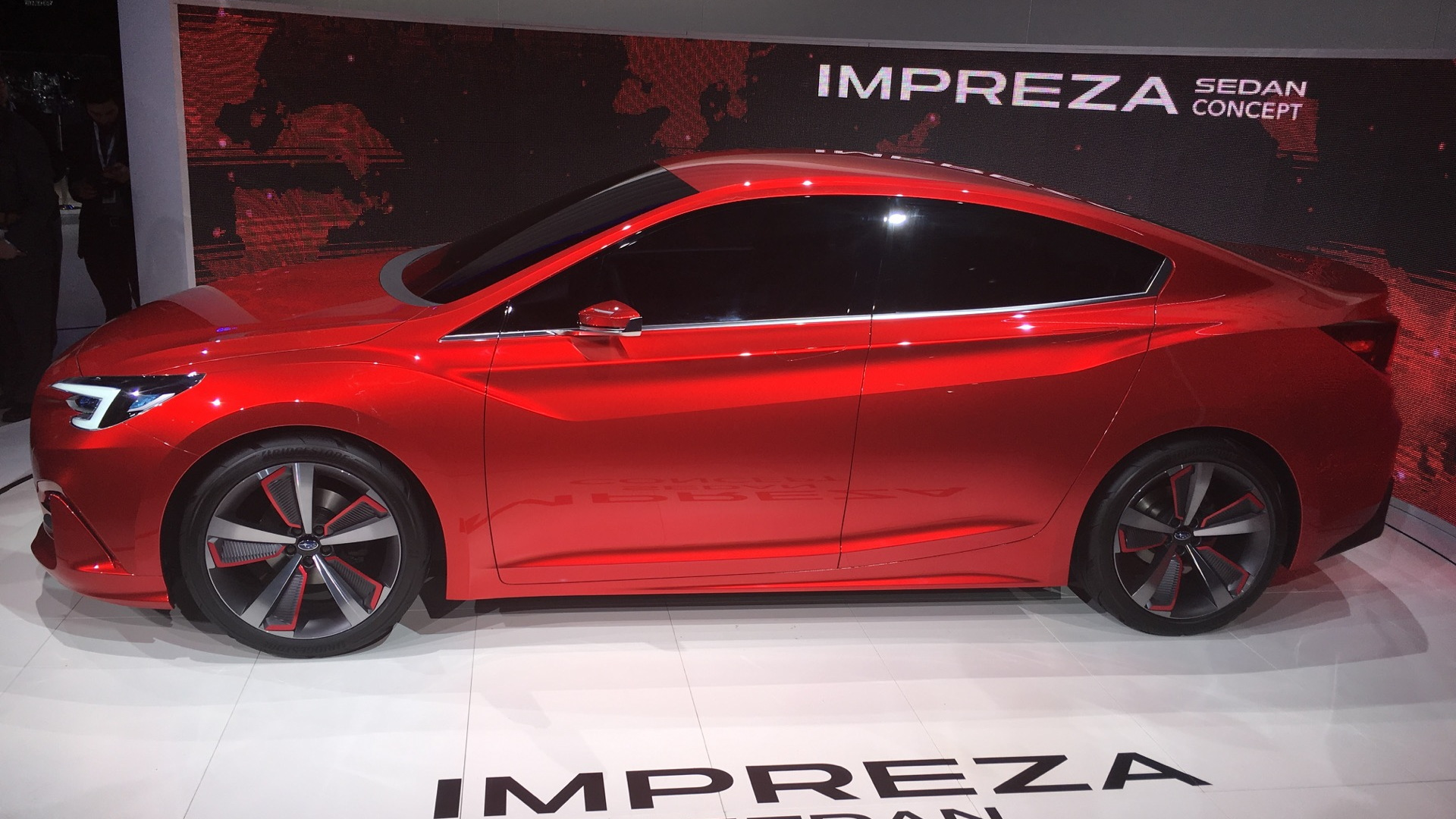 Subaru Impreza Sedan Concept  -  2015 Los Angeles Auto Show live photos