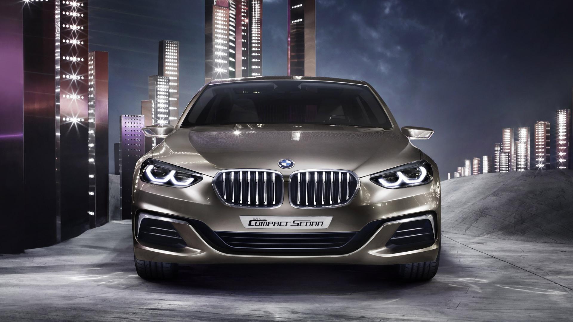 BMW Compact Sedan concept, 2015 Guangzhou Auto Show