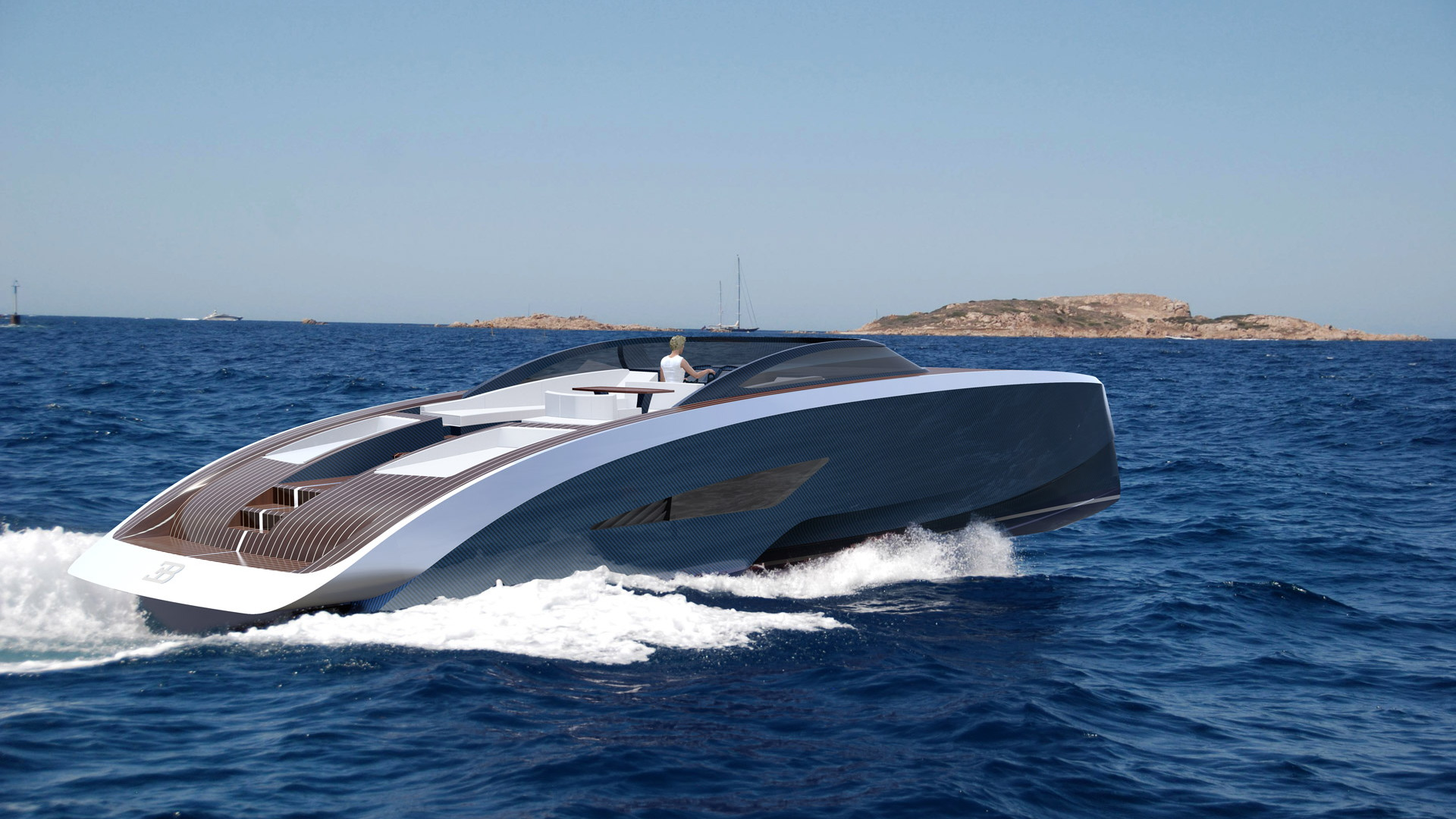 Palmer Johnson Niniette yacht inspired by Bugatti