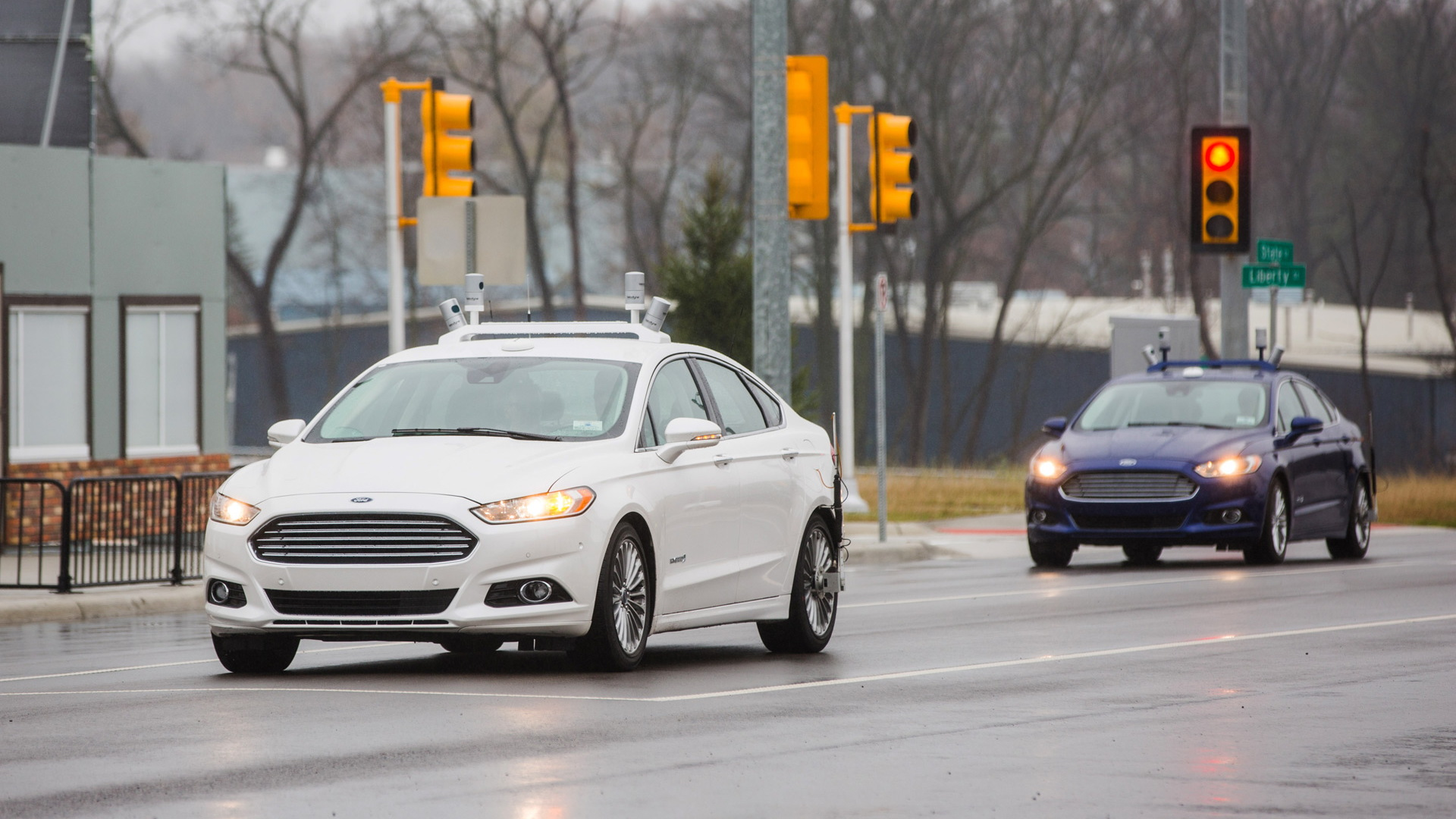 Ford autonomous car development