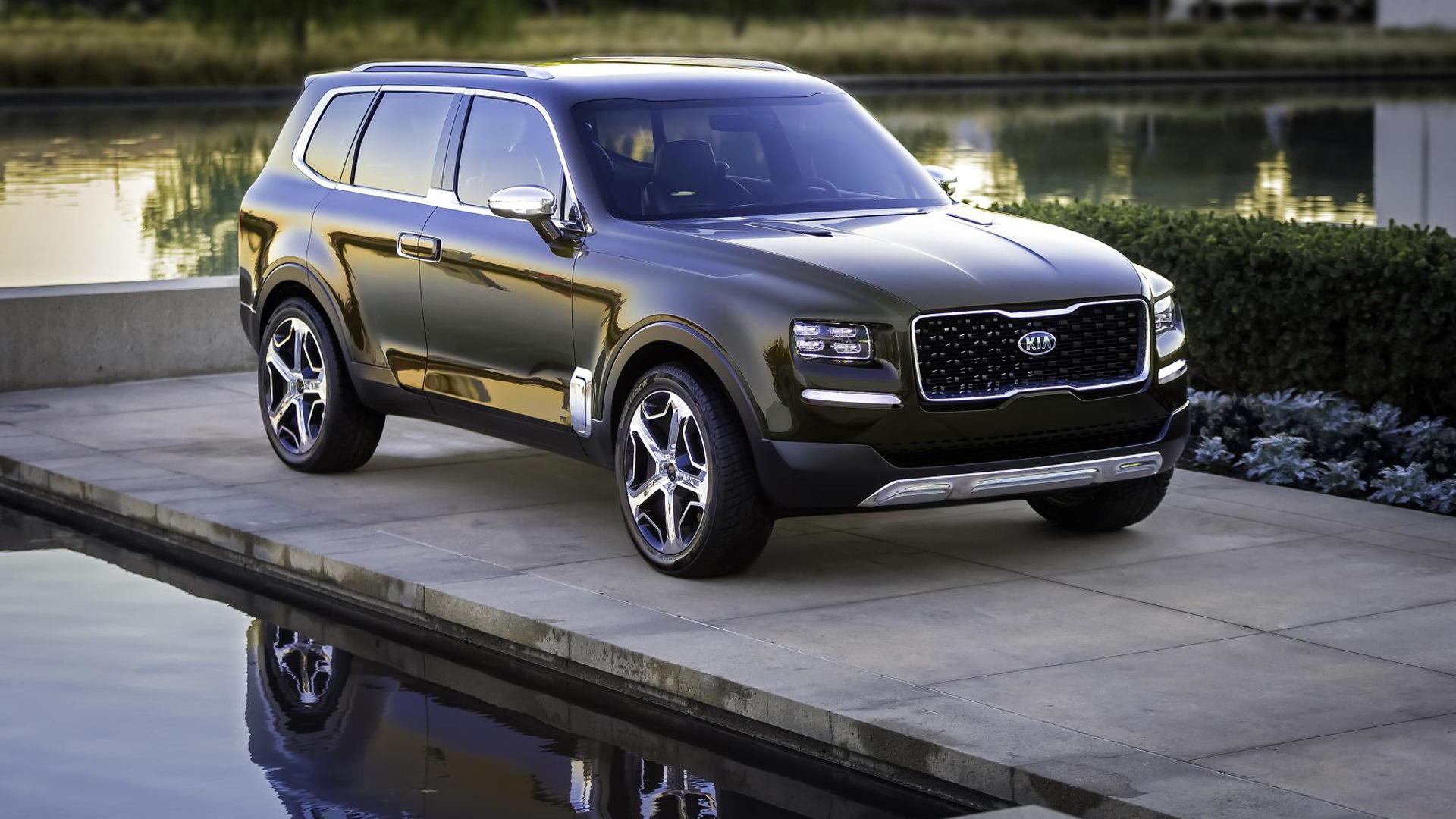 Kia Telluride concept, 2016 Detroit Auto Show