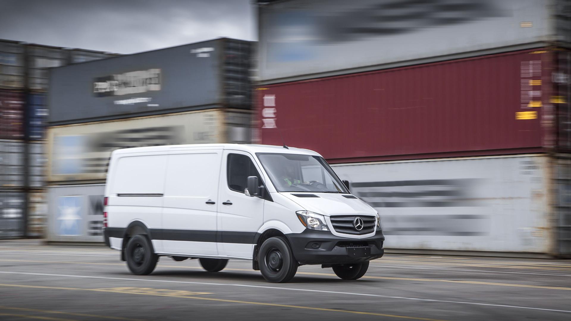 2017 Mercedes-Benz Sprinter Worker