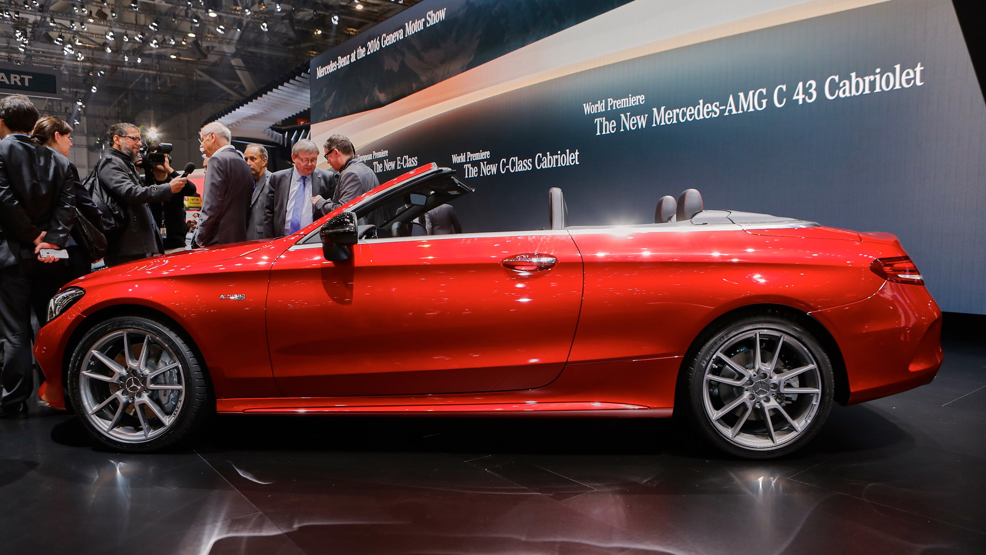 2017 Mercedes-AMG C43 Cabriolet, 2016 Geneva Motor Show