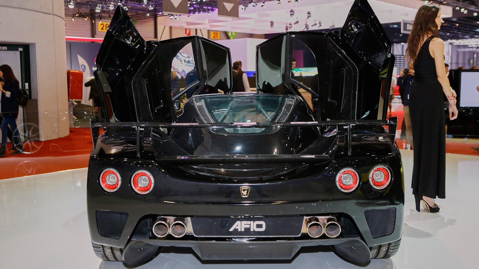 Arash AF10, 2016 Geneva Motor Show