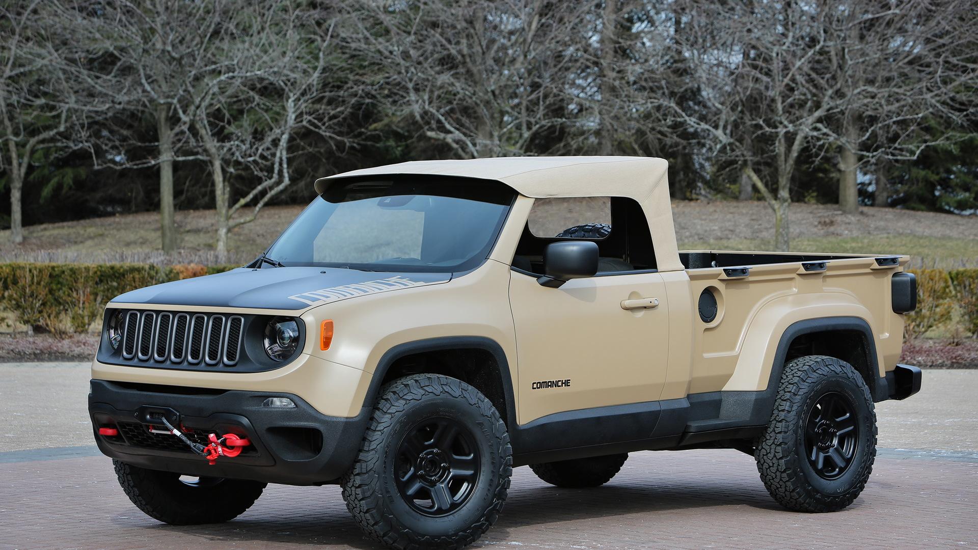 Jeep Comanche concept, 2016 Easter Jeep Safari