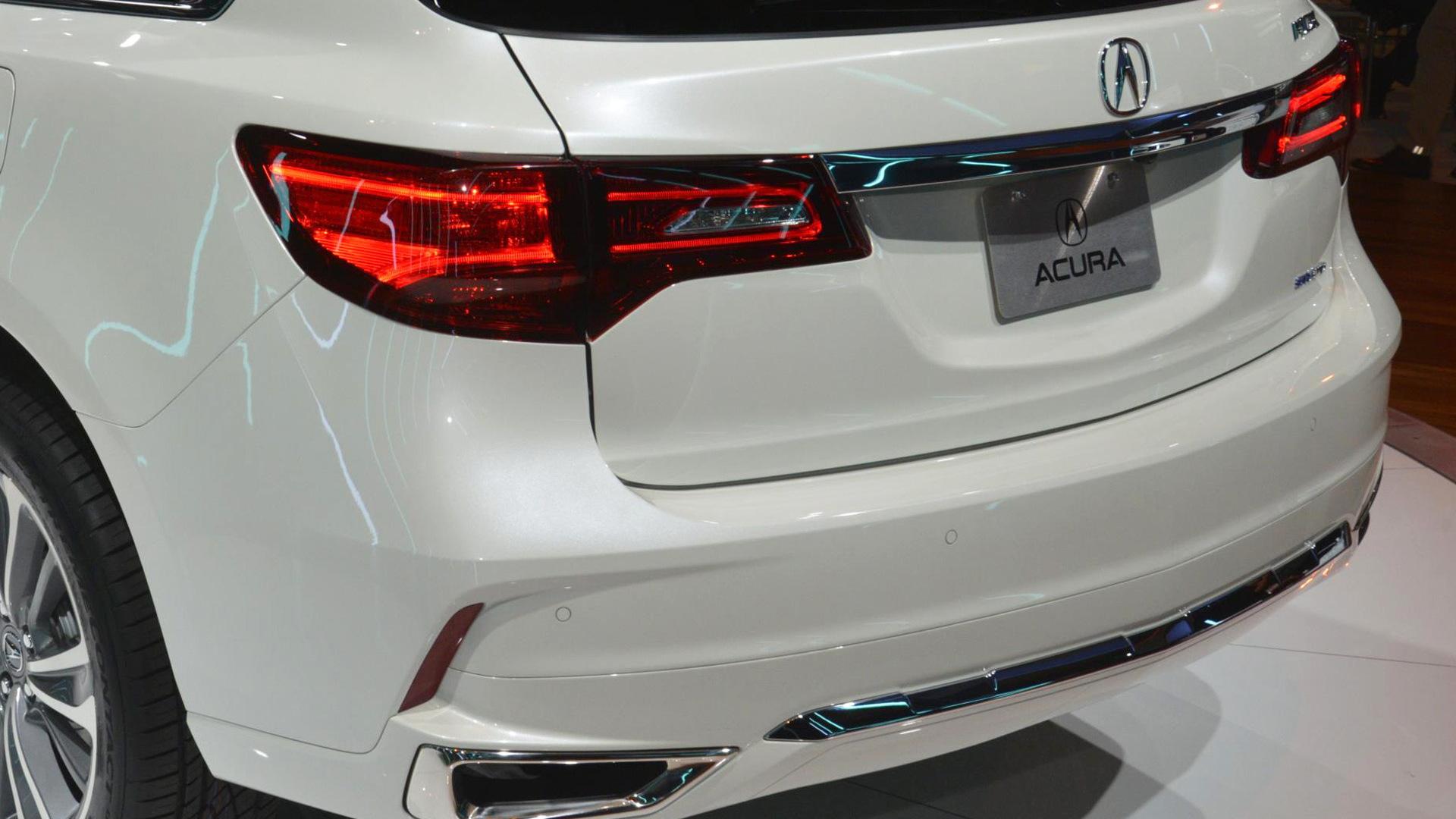 2017 Acura MDX, 2016 New York Auto Show