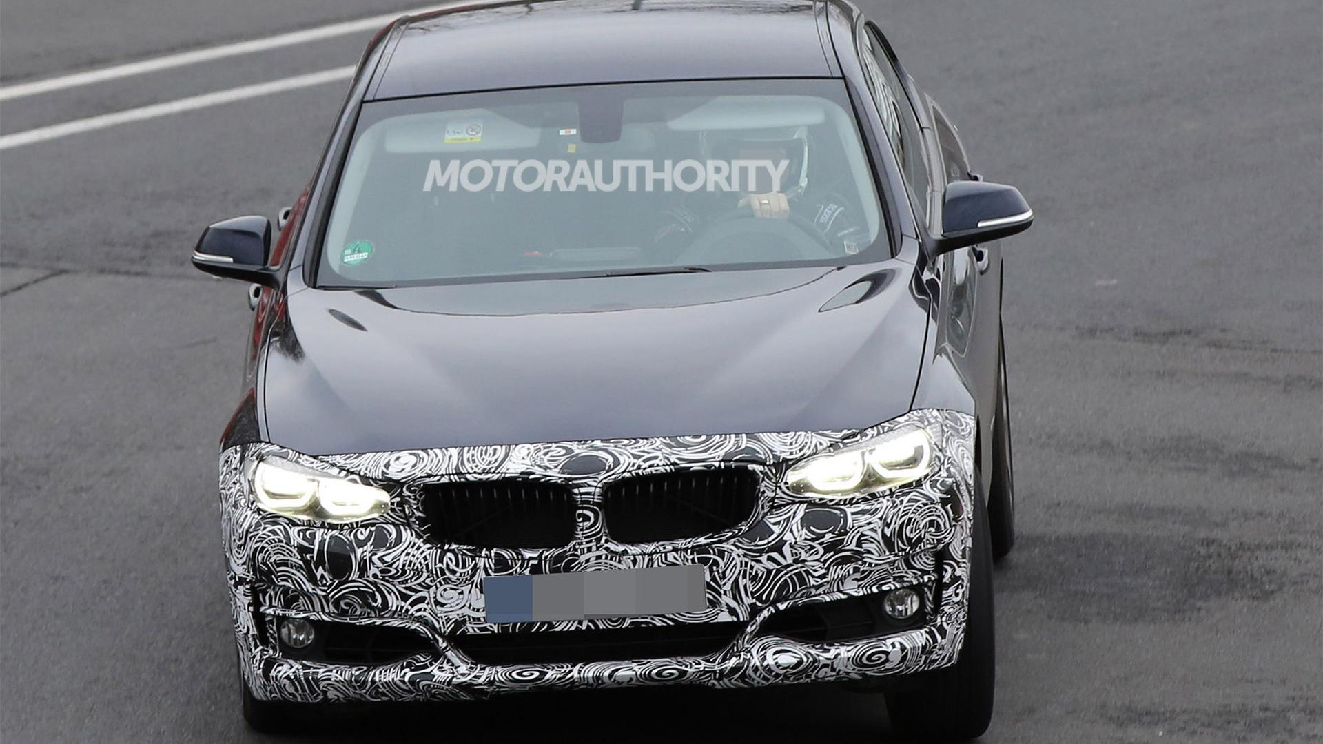 2017 BMW 3-Series Gran Turismo facelift spy shots - Image via S. Baldauf/SB-Medien