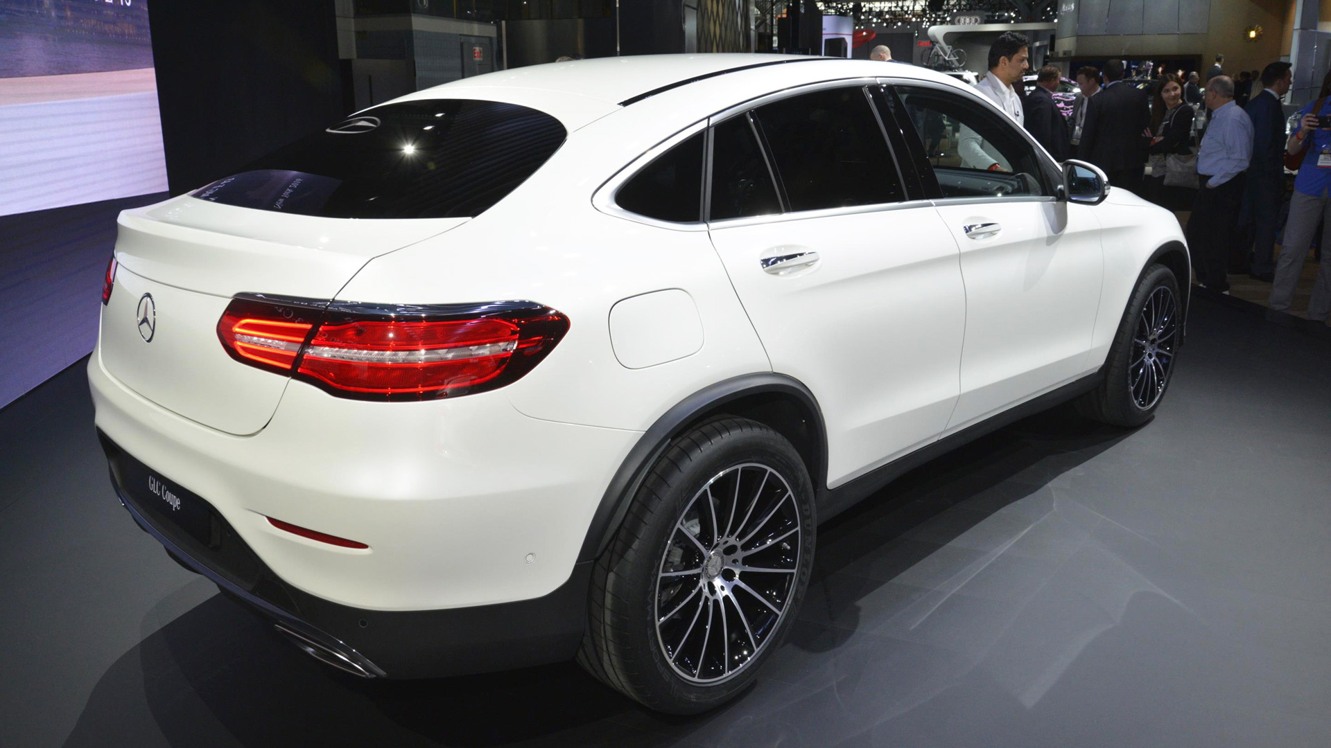 2017 Mercedes-Benz GLC Coupe, 2016 New York Auto Show