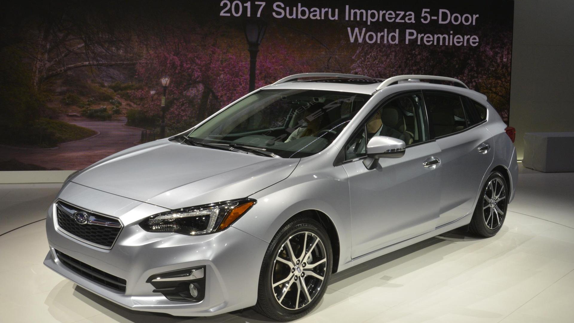 2017 Subaru Impreza 5-Door, 2016 New York Auto Show