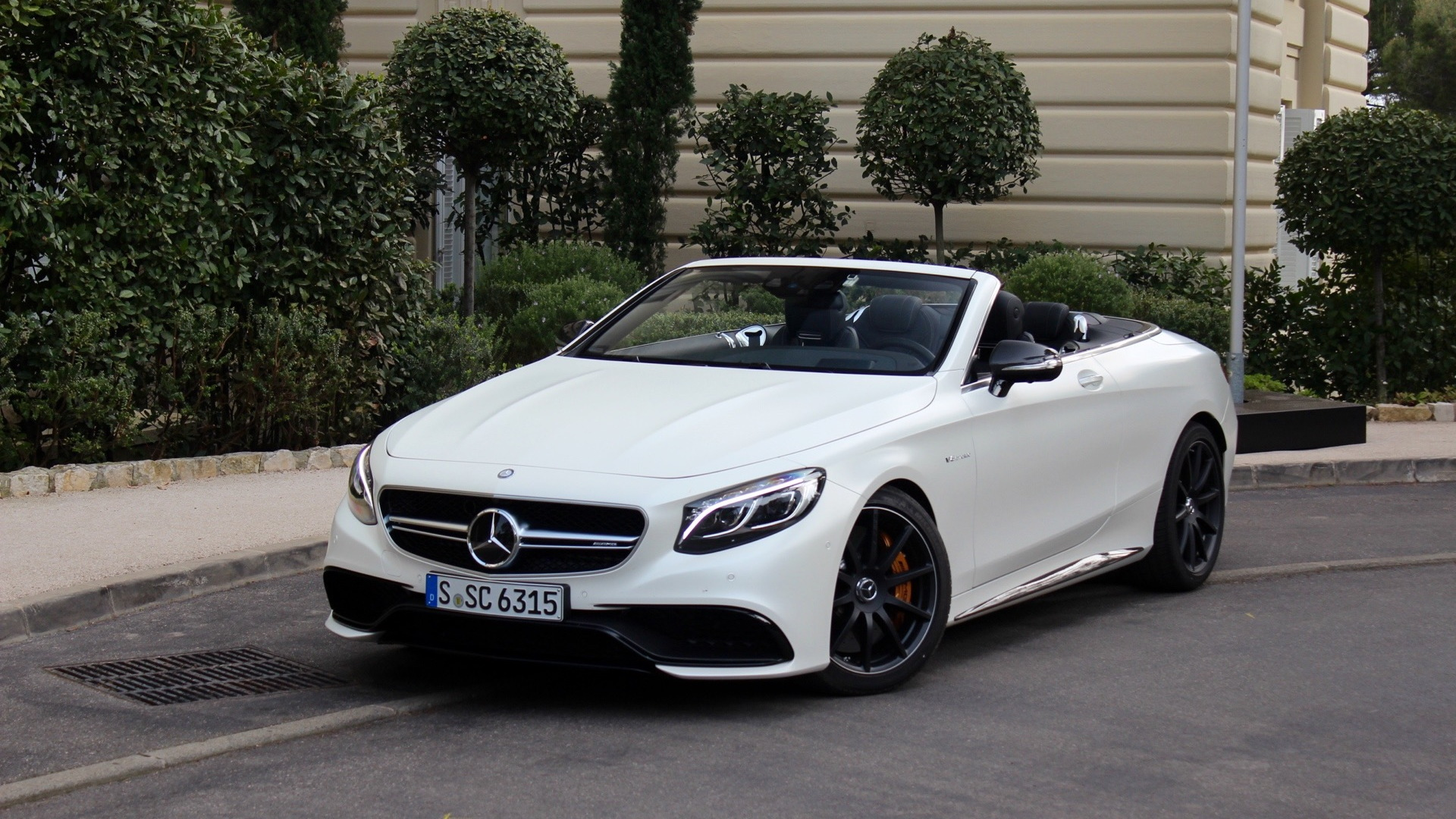 2017 Mercedes Benz S Cl Cabriolet First Drive April 2016