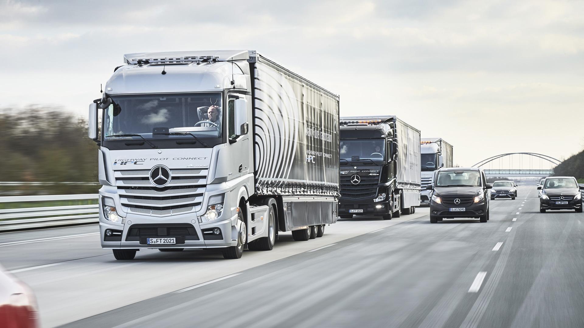 Mercedes-Benz Actros autonomous truck
