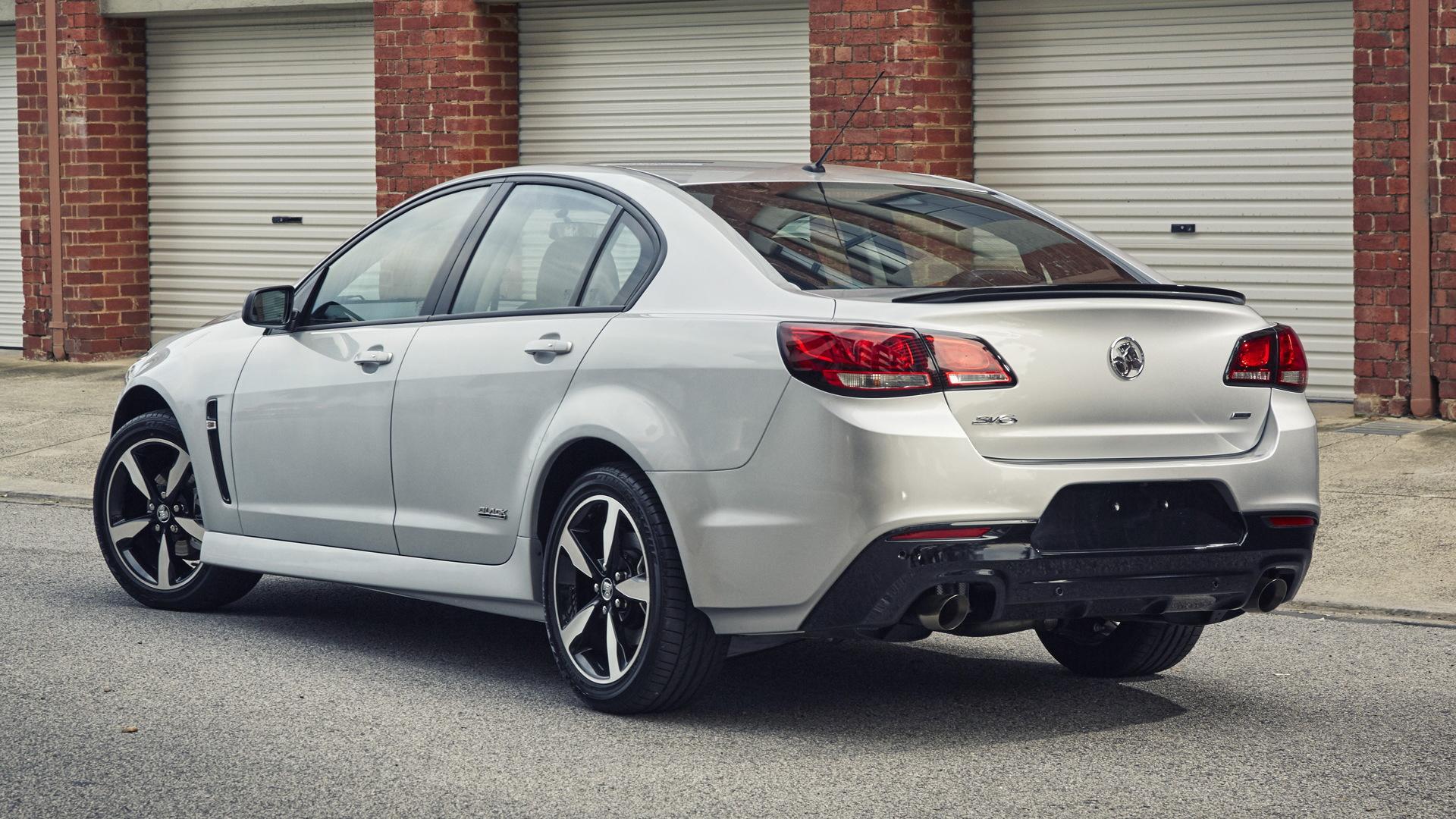 2016 Holden Commodore SV6 Black Edition