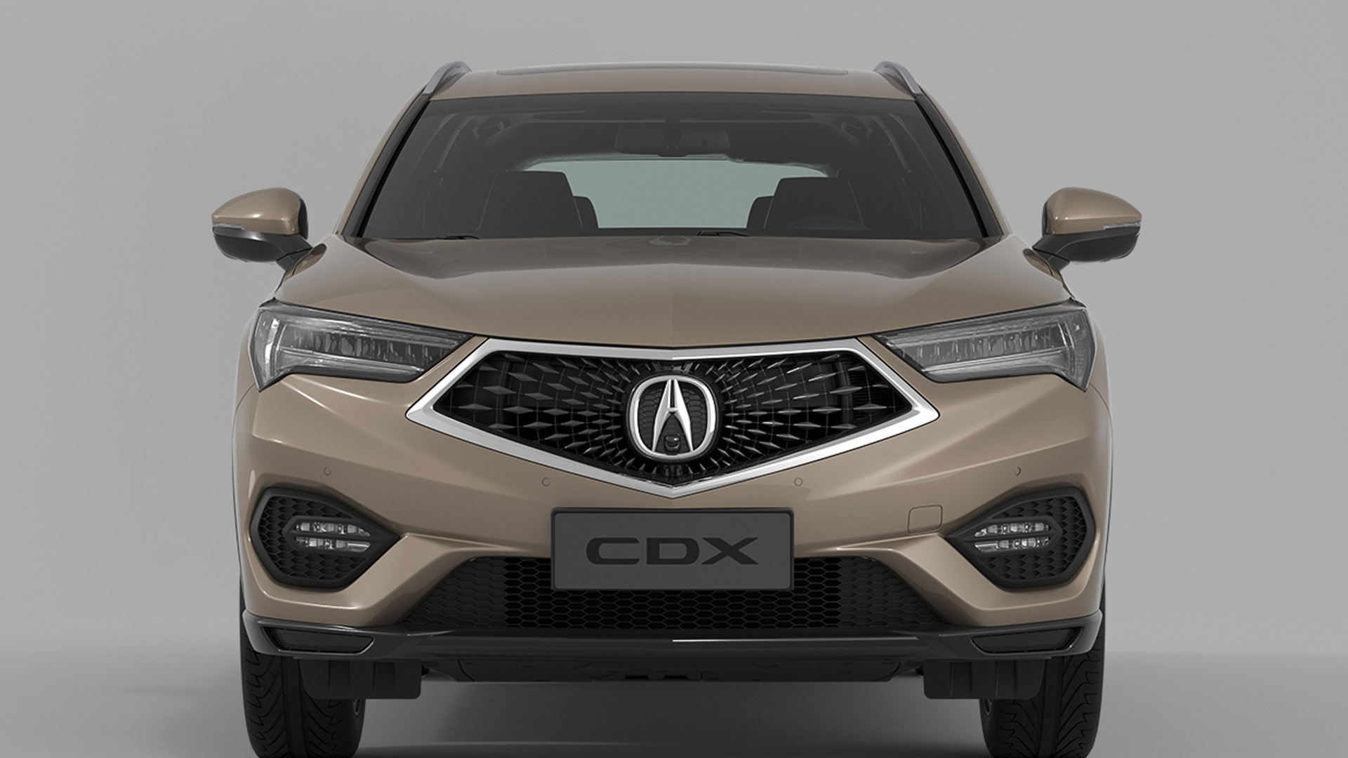 2016 Acura CDX (Chinese spec)