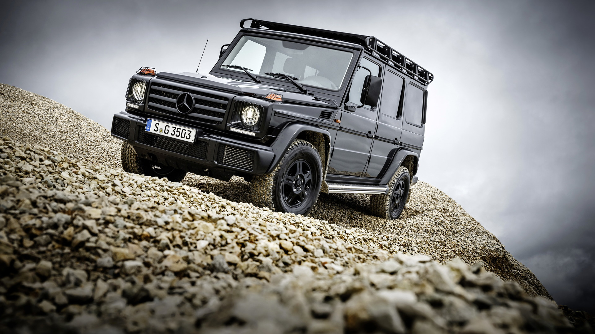 2017 Mercedes-Benz G-Class (European spec)