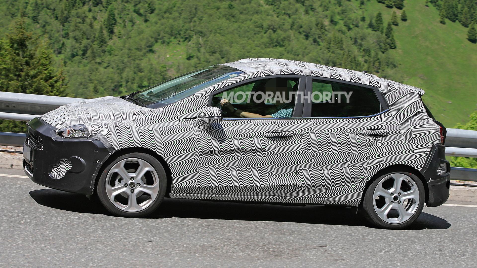 2018 Ford Fiesta spy shots - Image via S. Baldauf/SB-Median