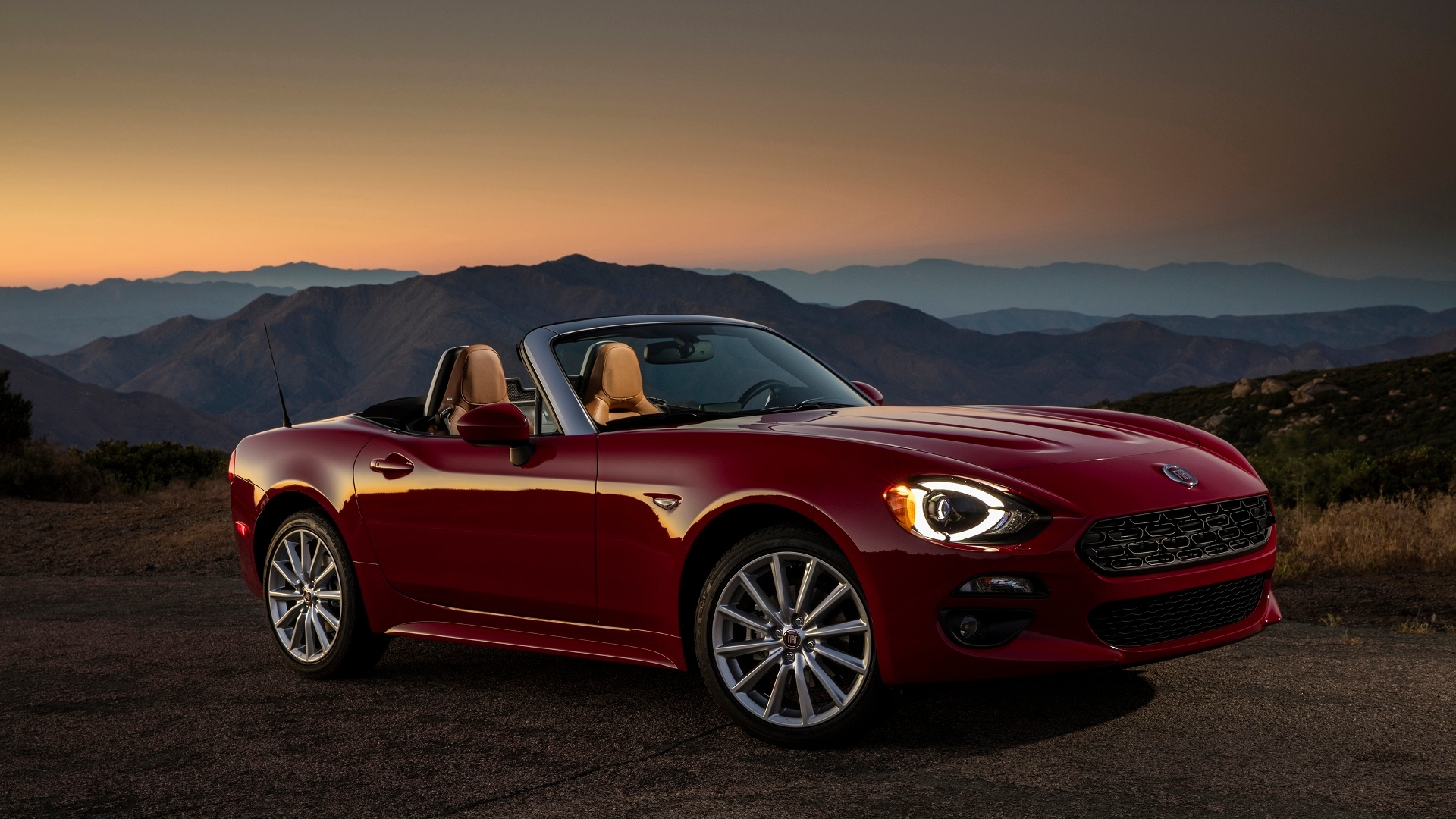 2017 Fiat 124 Spider, 2016 Press Drive San Diego