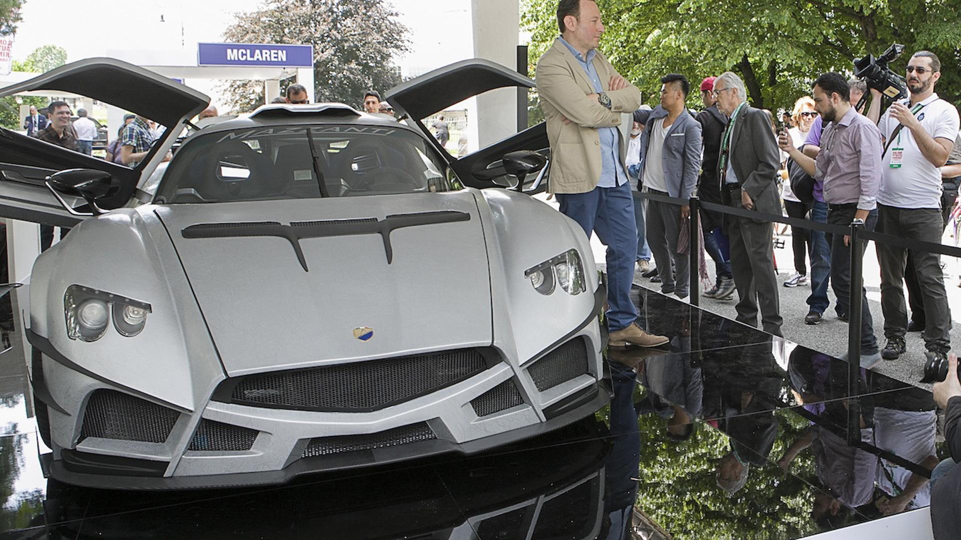 Mazzanti Evantra Millecavalli, 2016 Turin Auto Show