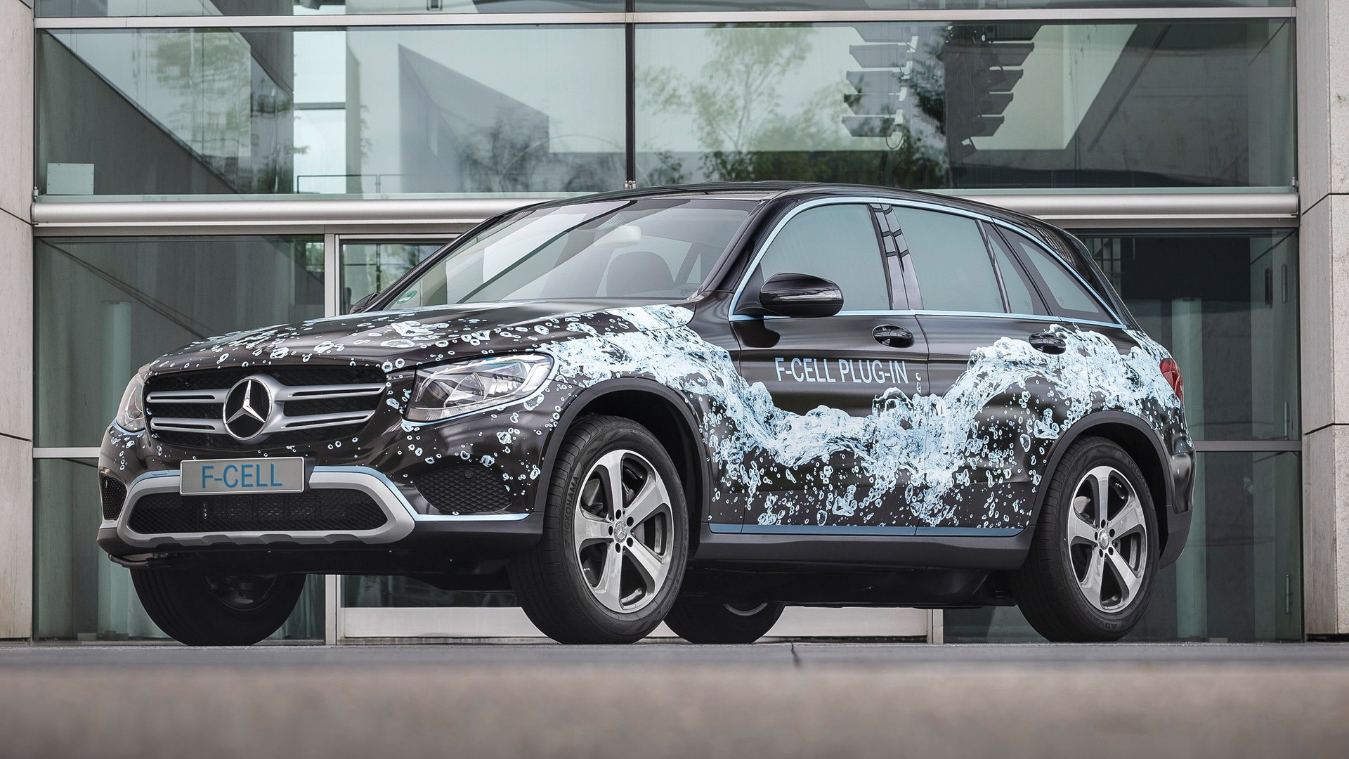 Mercedes-Benz GLC F-Cell prototype