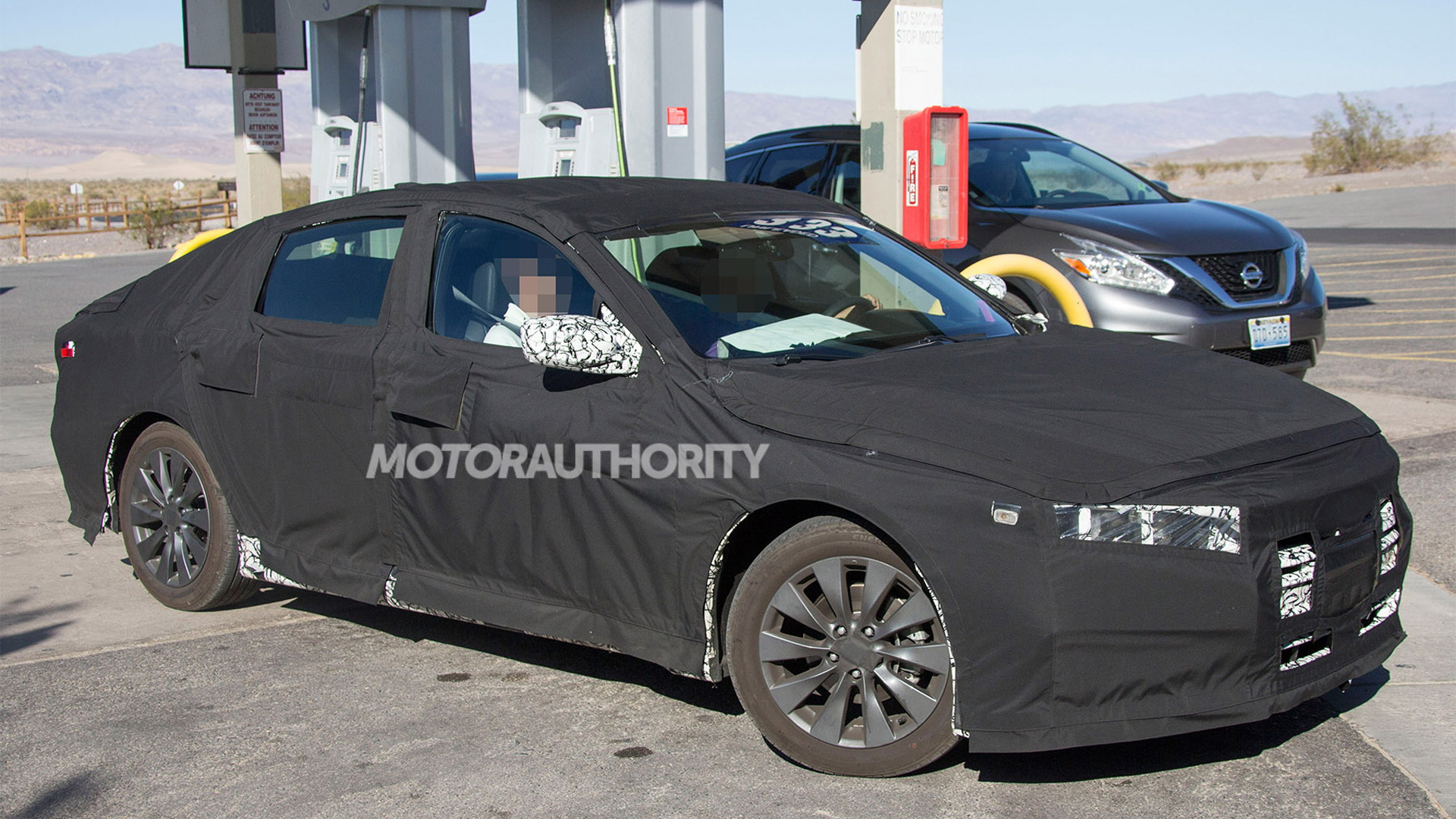 2018 Honda Accord spy shots - Image via S. Baldauf/SB-Medien