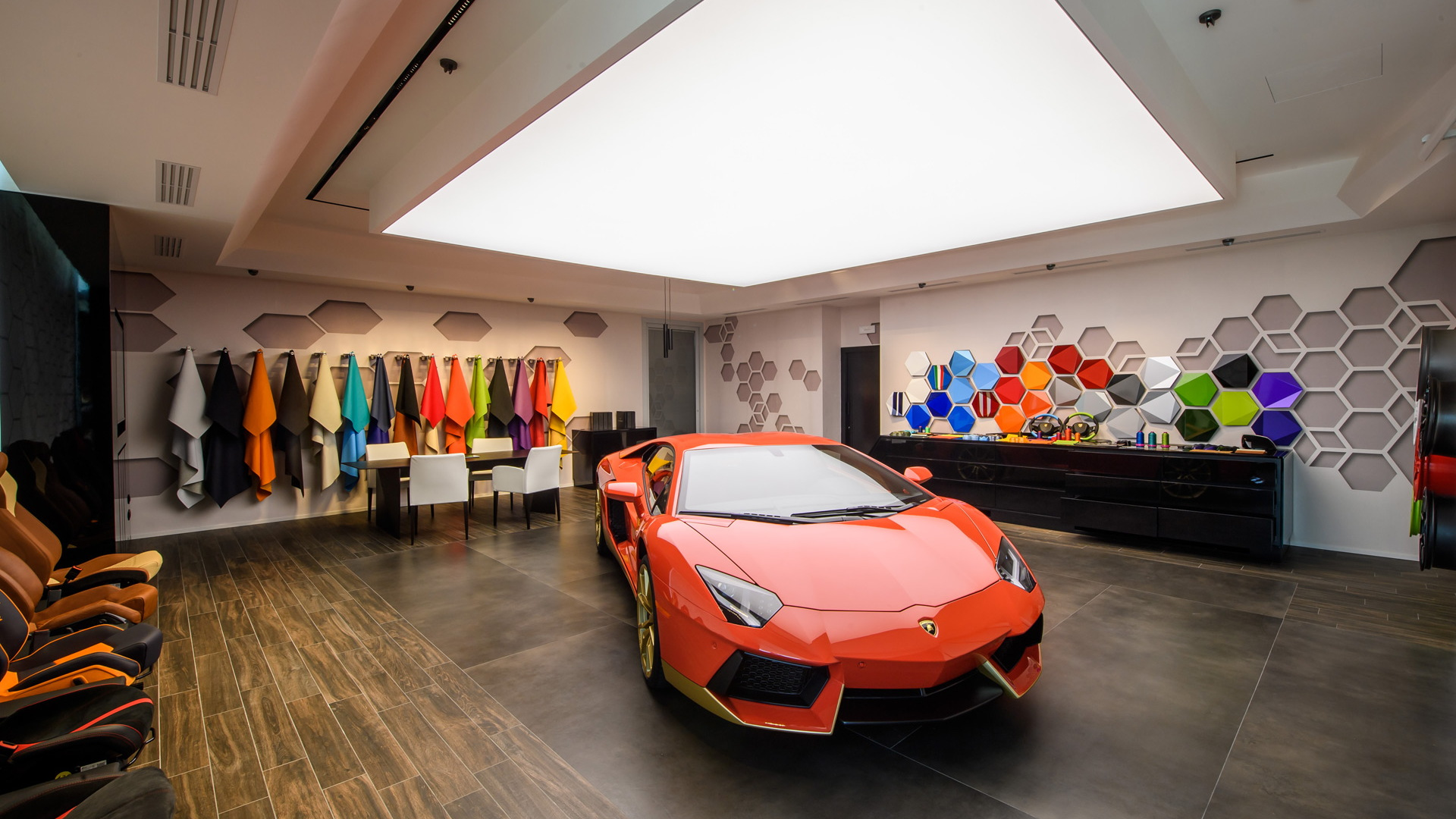 Lamborghini Factory Gets Personalization Studio