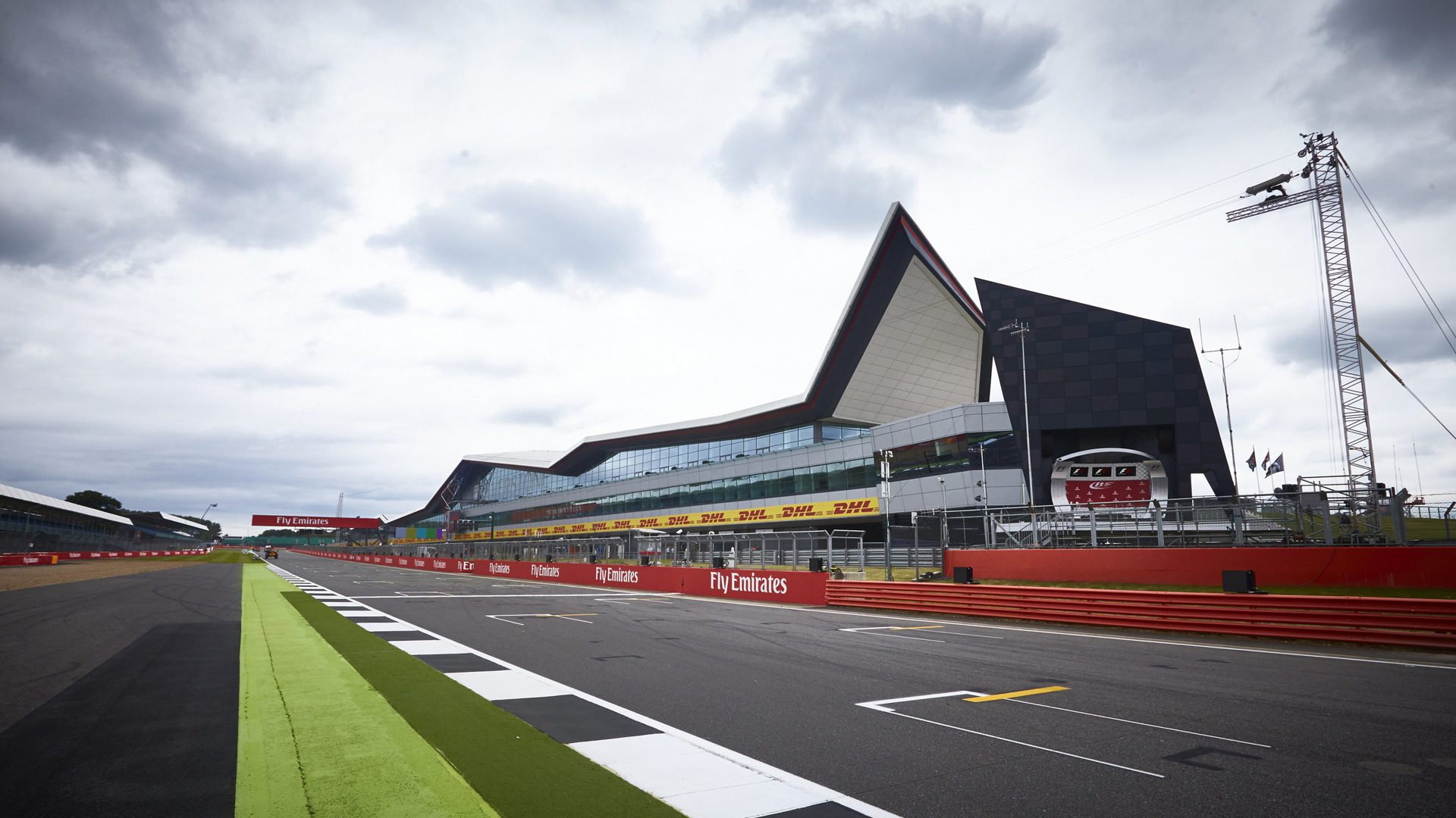 Silverstone Circuit, home of the Formula 1 British Grand Prix