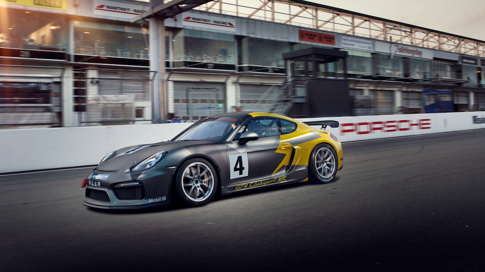 2017 Porsche Cayman GT4 Clubsport MR