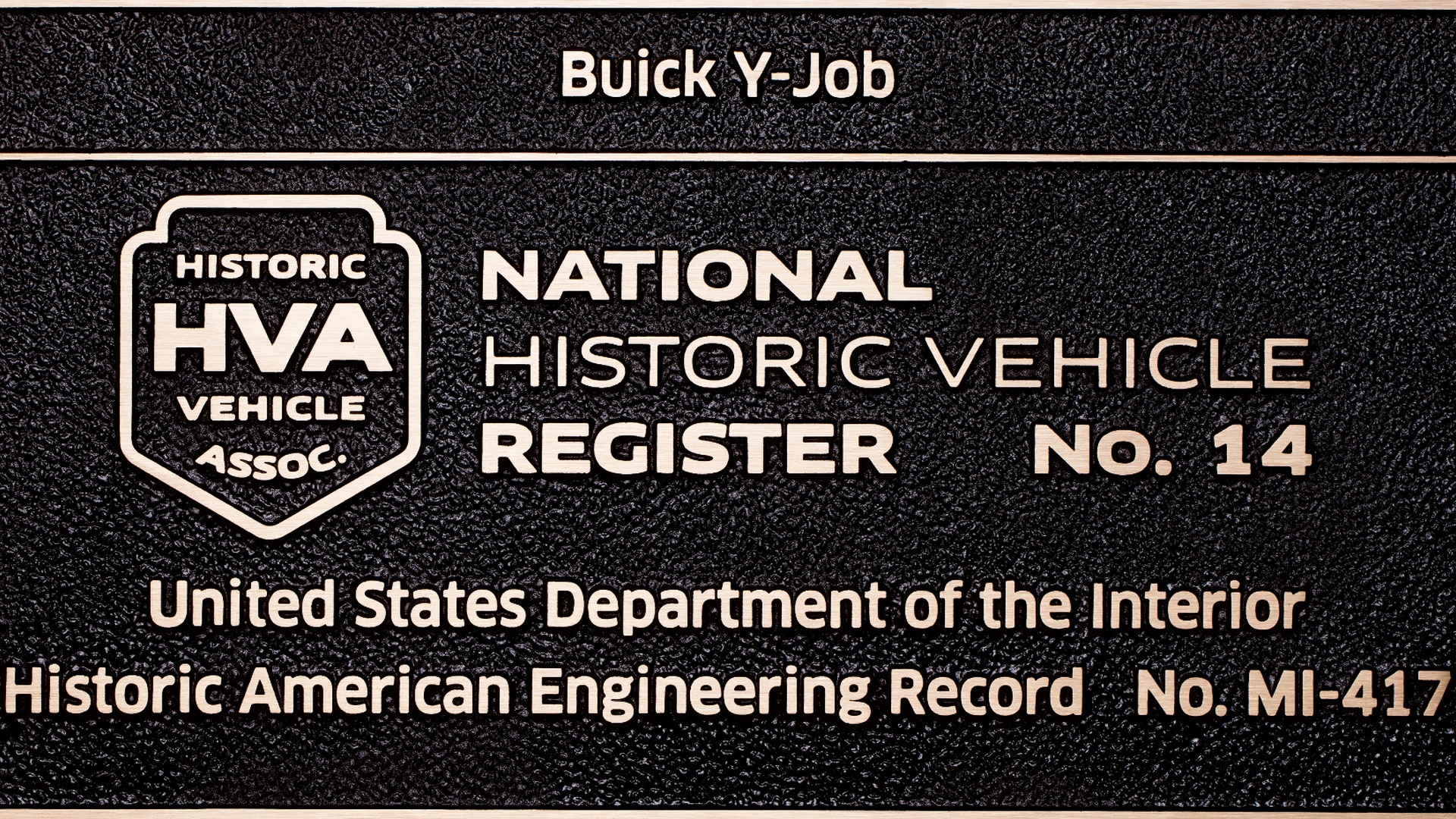 Buick Y-Job, courtesy of Historic Vehicle Association