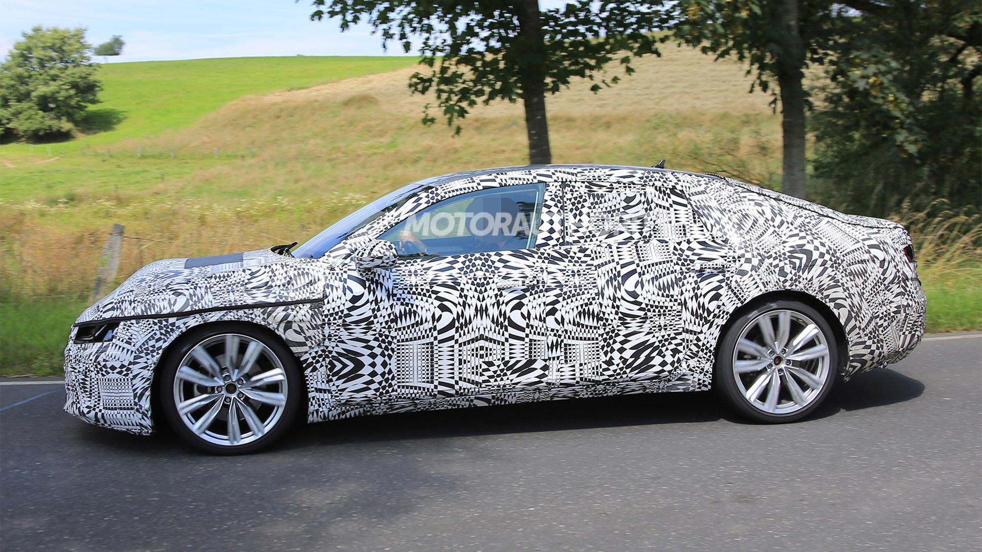 2018 Volkswagen Arteon (CC successor) spy shots - Image via  S. Baldauf/SB-Medien