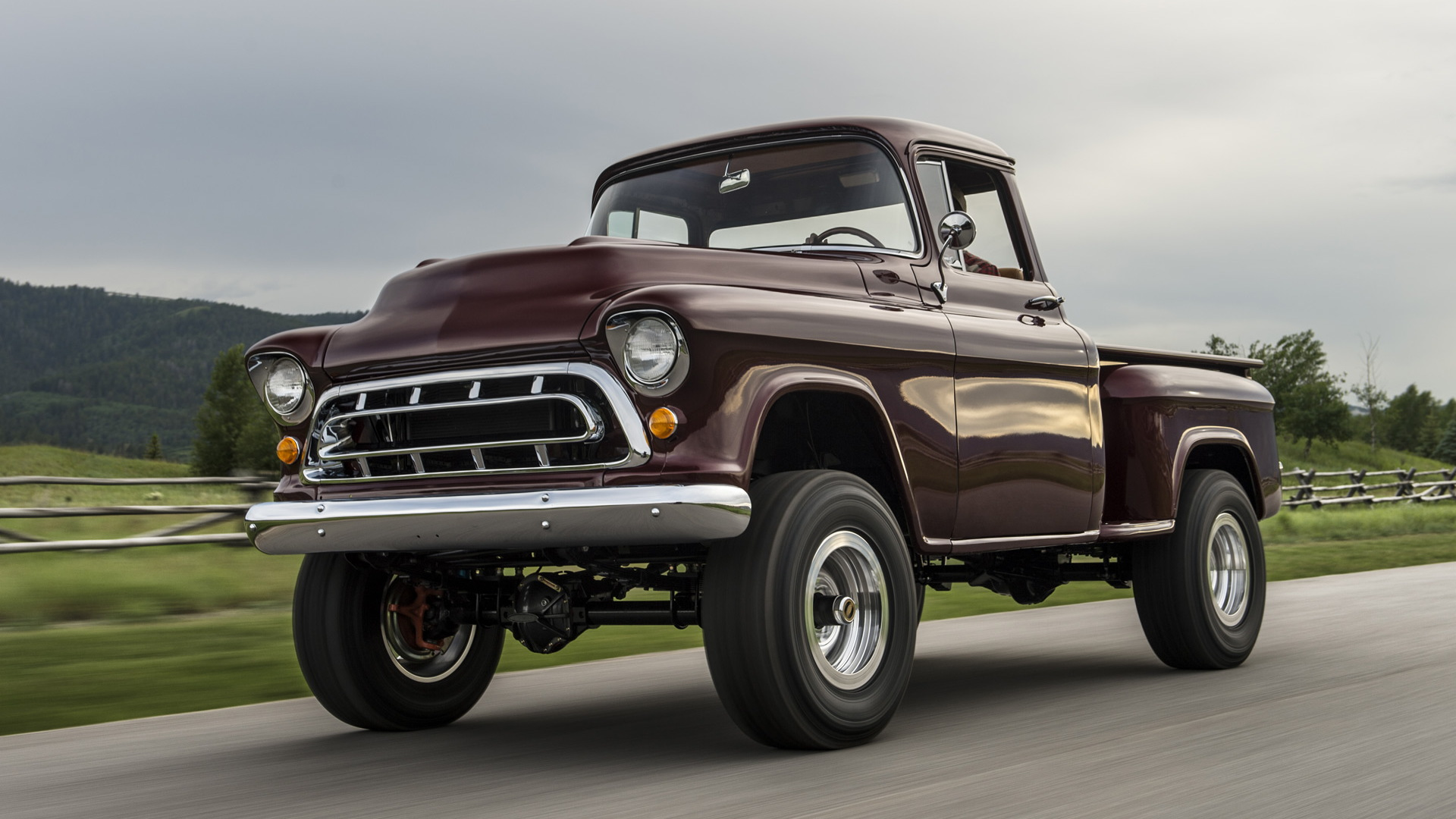 1950s Chevy NAPCO 4x4 by Legacy Classic Trucks - Image via Drew Phillips