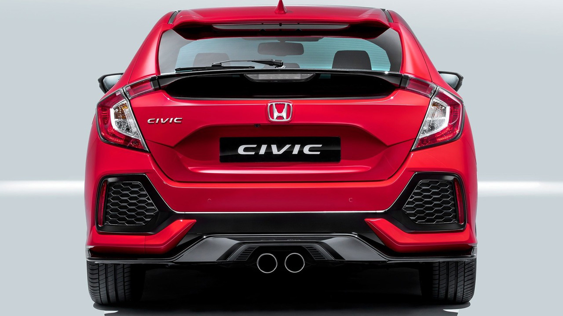 2017 Honda Civic Hatchback (European spec)