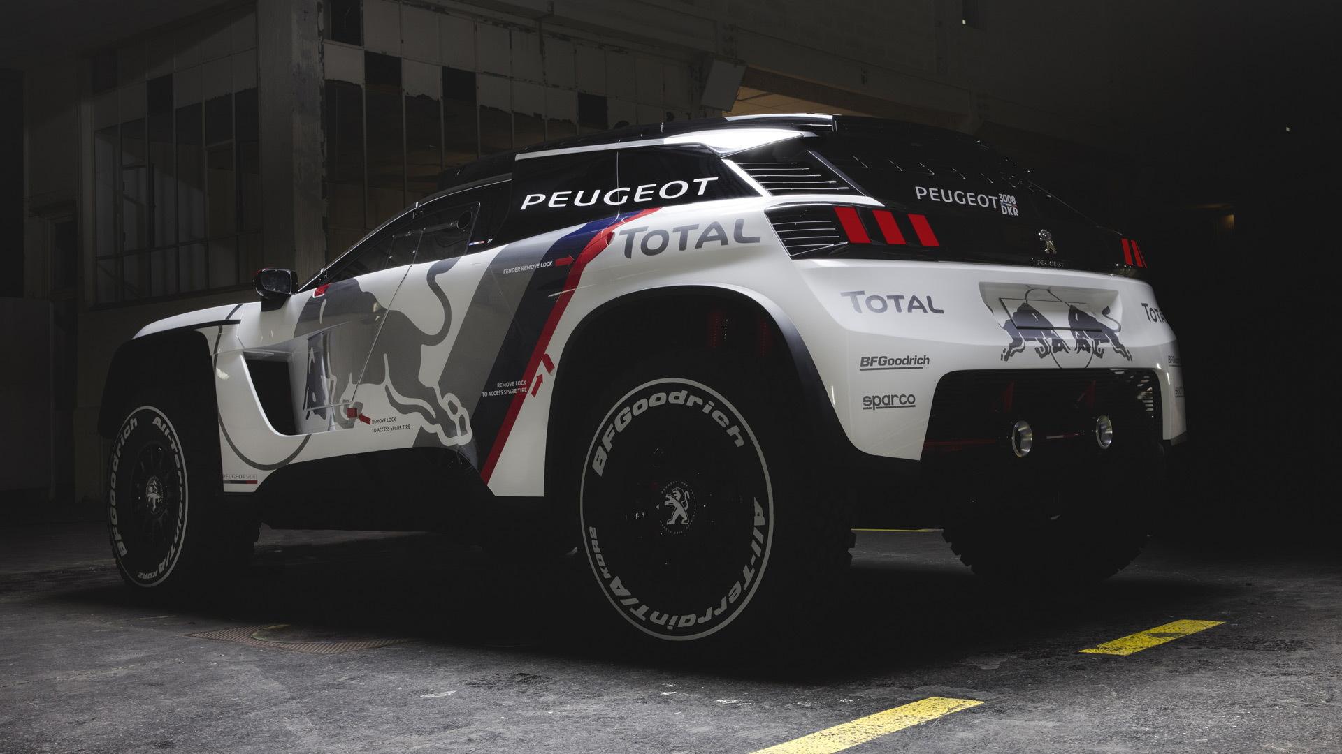 2017 Peugeot 3008 DKR