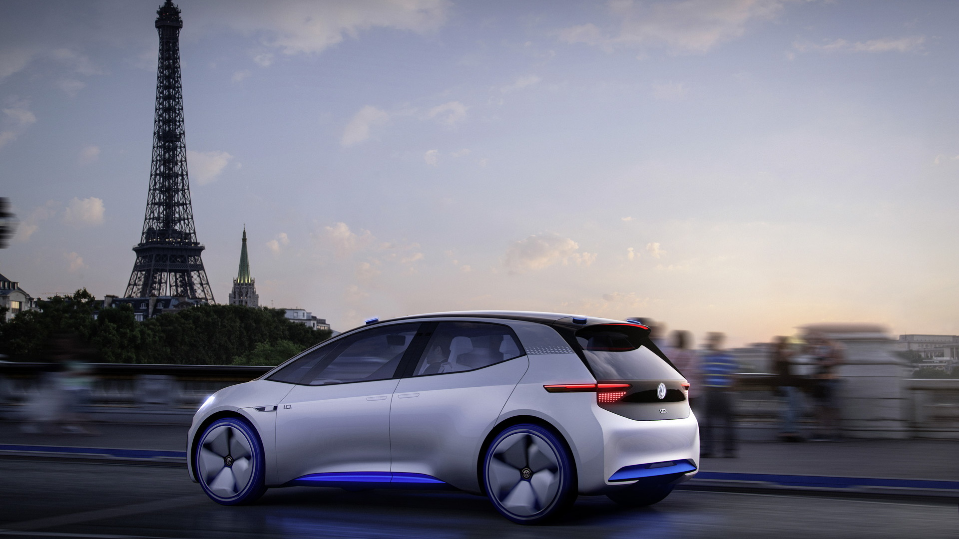 Volkswagen ID: More Details Of All-electric Concept Car At