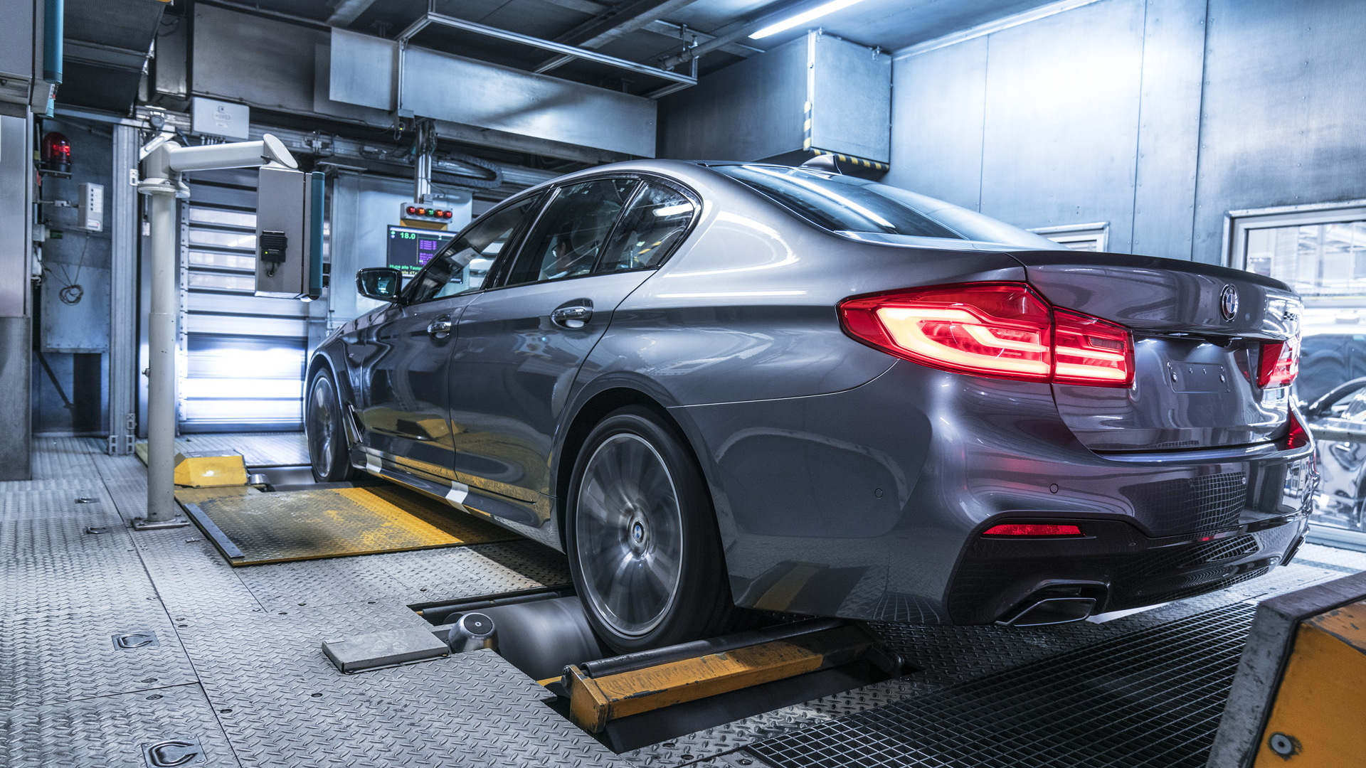 2017 BMW 5-Series production in Dingolfing, Germany