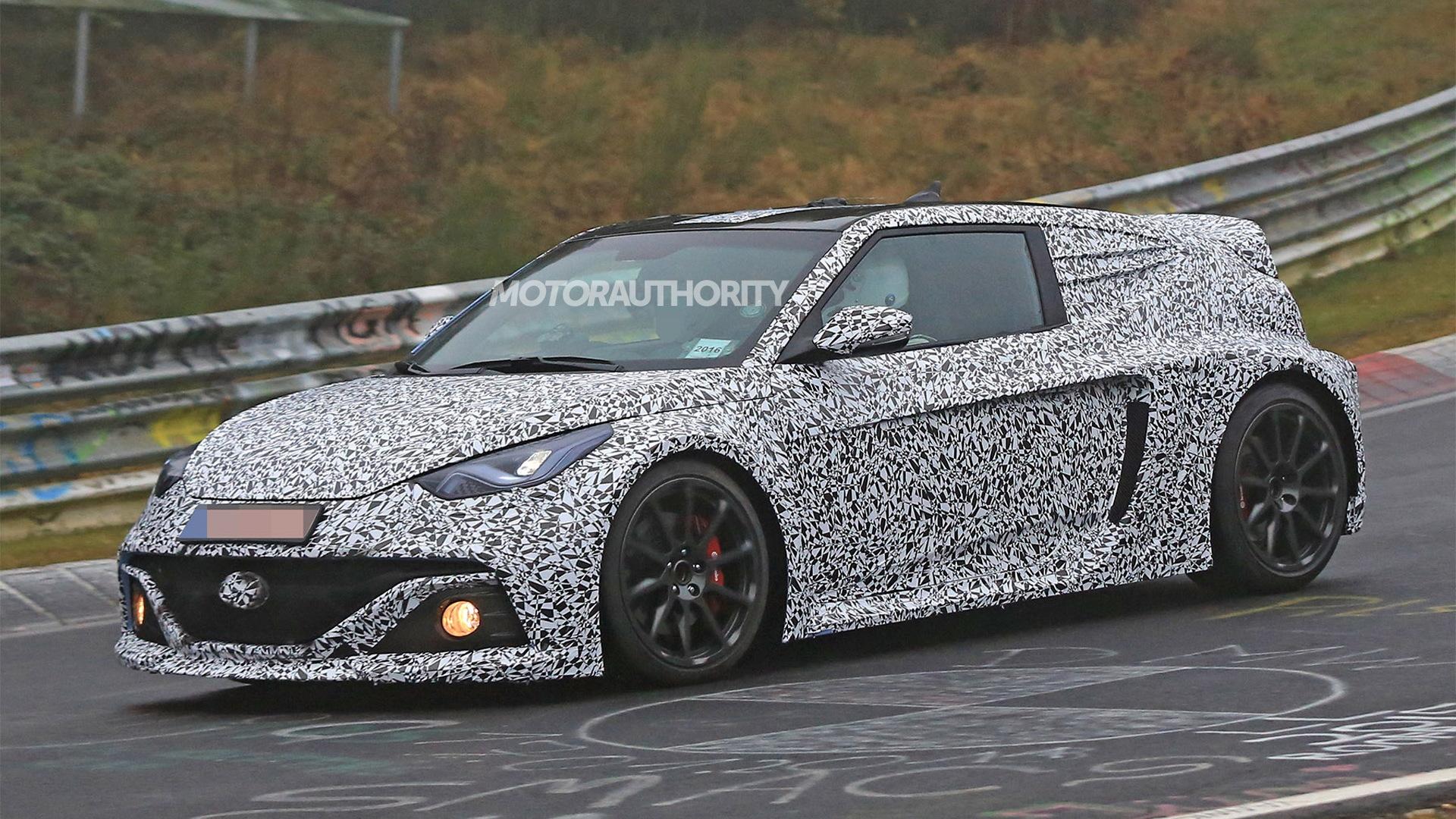 Hyundai RM16 N concept Nürburgring testing - Image via S. Baldauf/SB-Medien