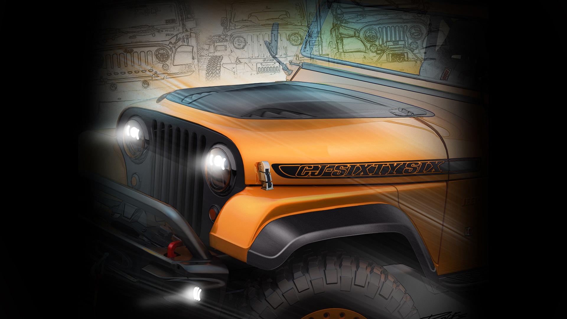 Jeep Wrangler Mopar concept, 2016 SEMA show