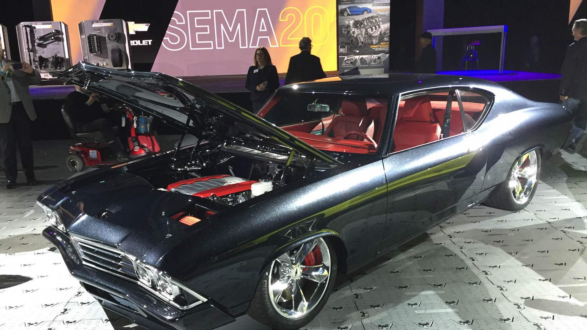 Chevy Chevelle 2016 >> Chevelle Slammer Introduces Latest Chevy Crate Engine At Sema
