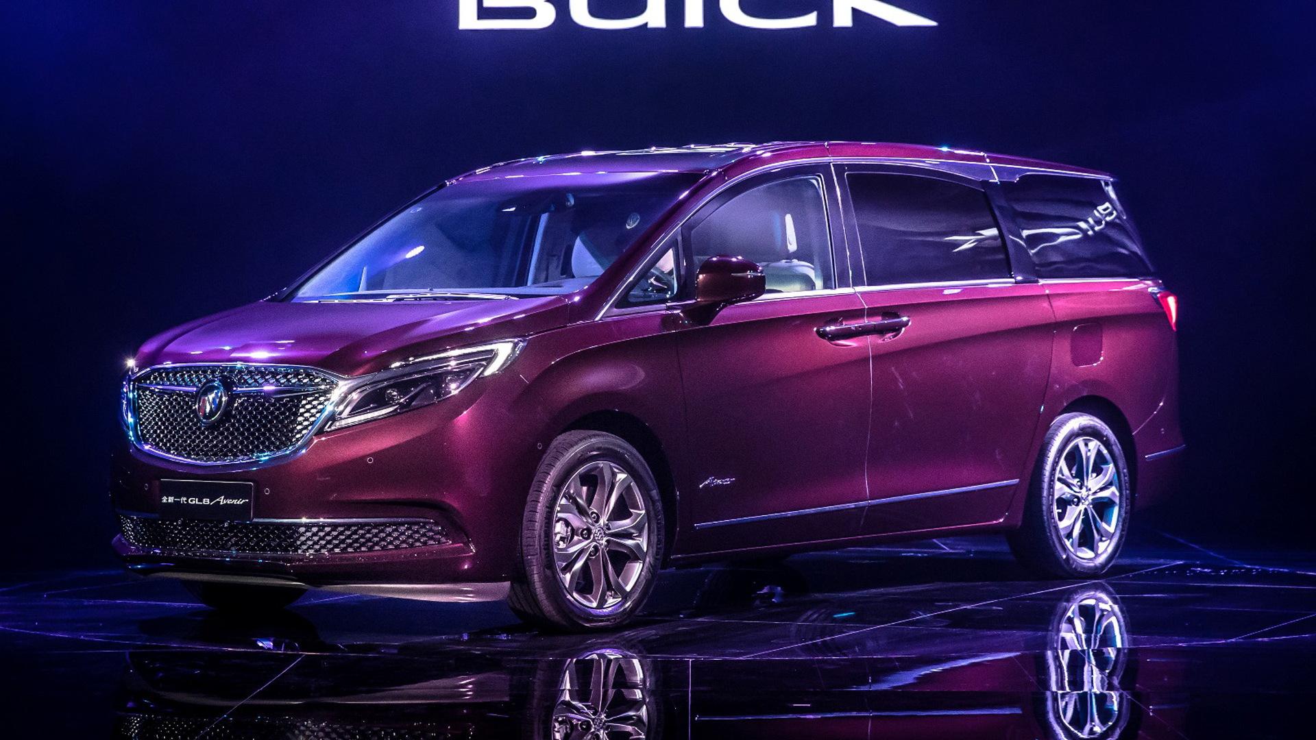 2017 Buick GL8 Avenir (Chinese spec)