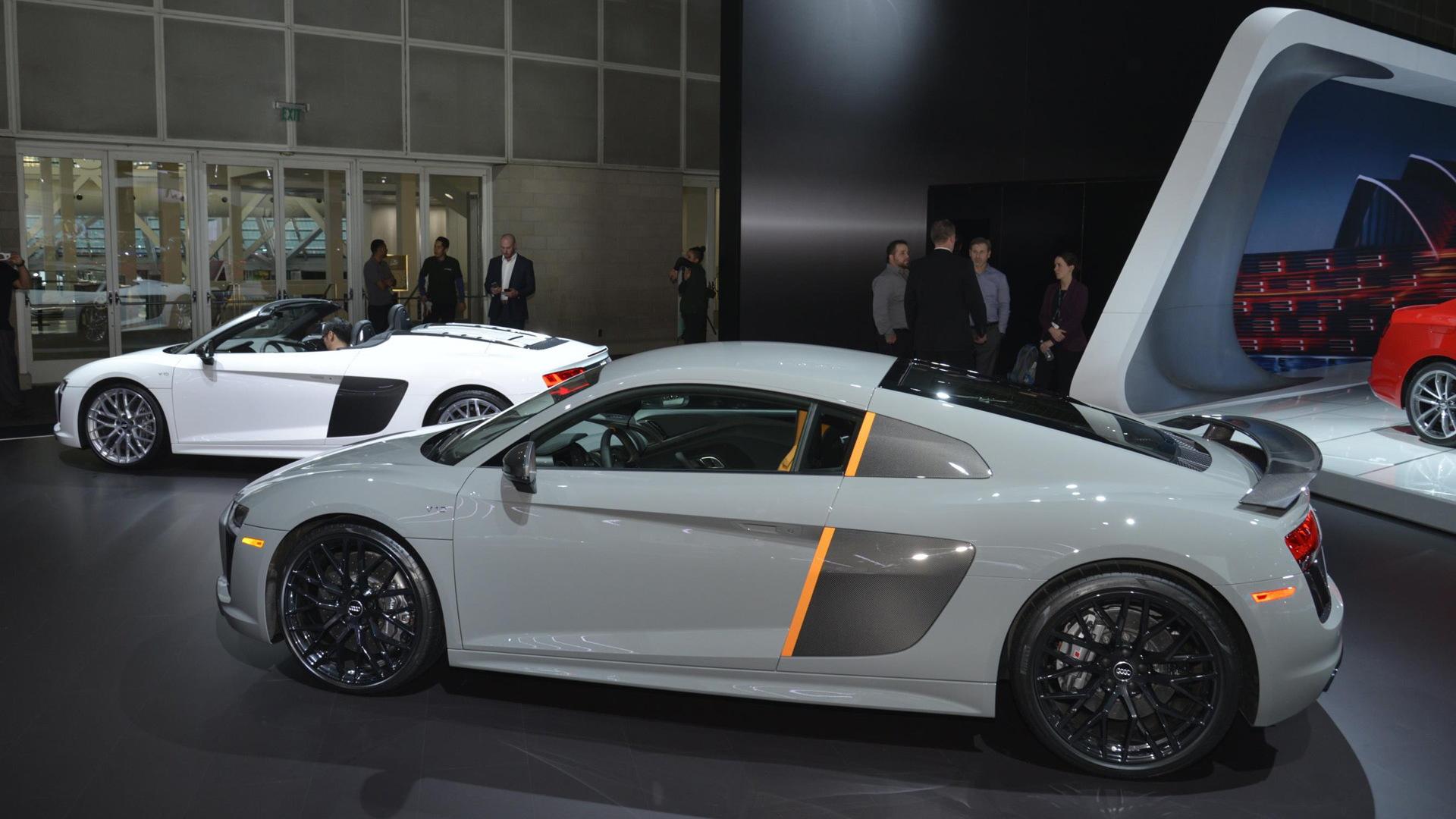 2017 Audi R8 V10 Plus Exclusive Edition, 2016 Los Angeles auto show