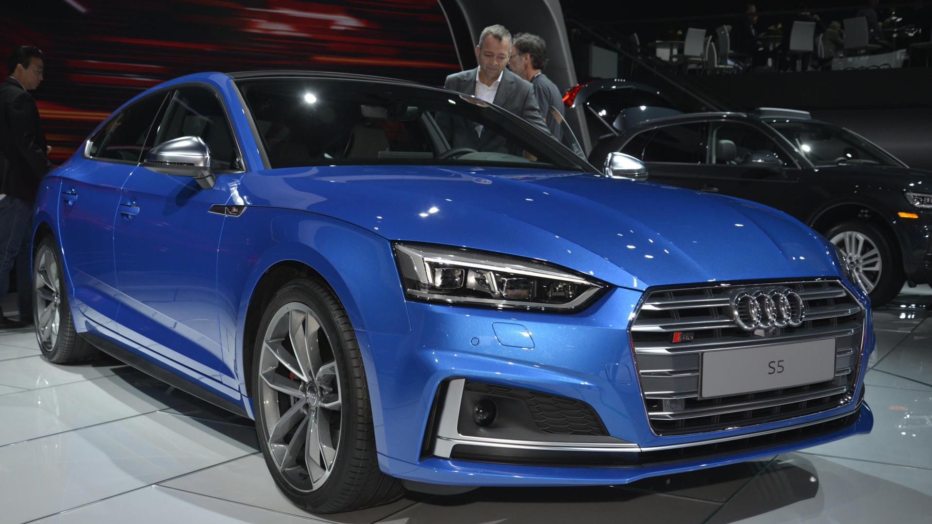 2018 Audi S5 Sportback, 2016 Los Angeles auto show