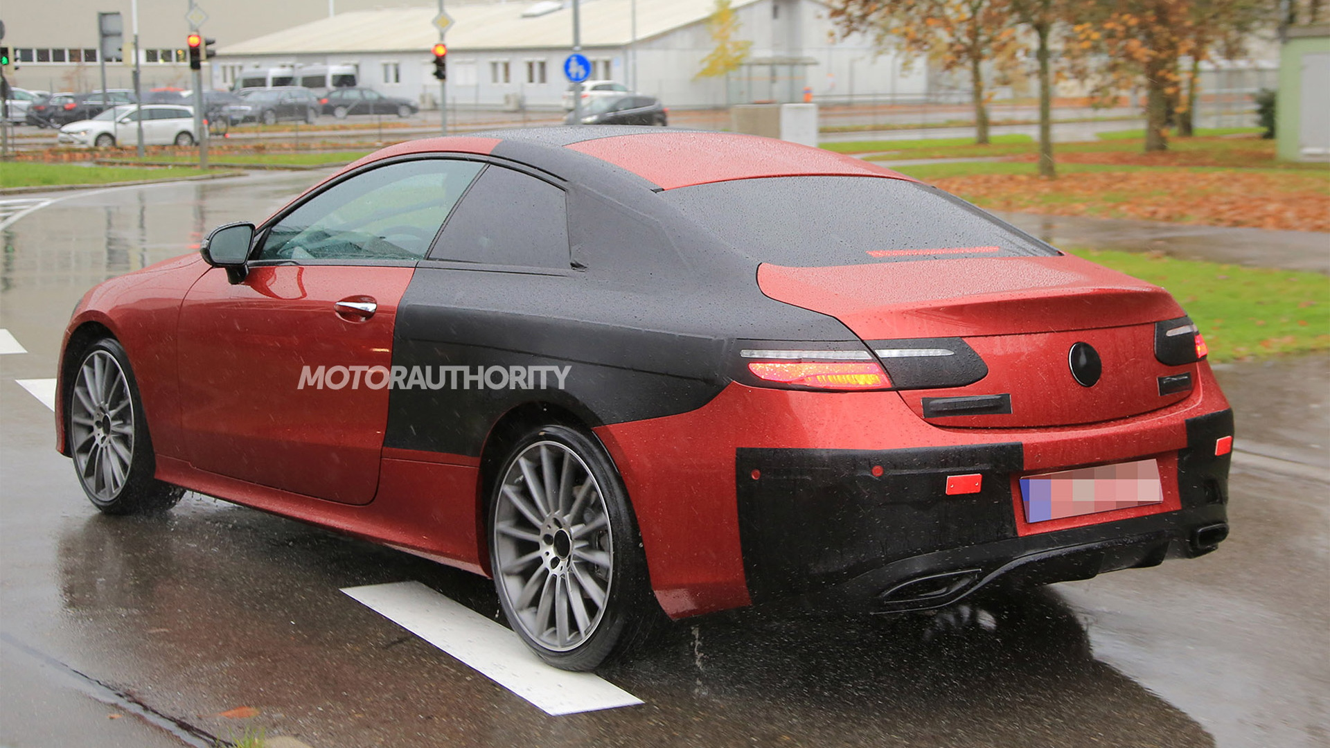 2018 mercedesbenz eclass coupe spy shots and video