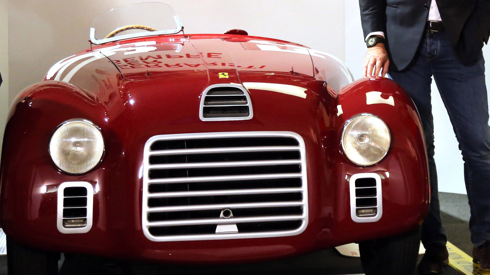 1947 Ferrari 125 S bearing chassis 01C - Ferrari's first car