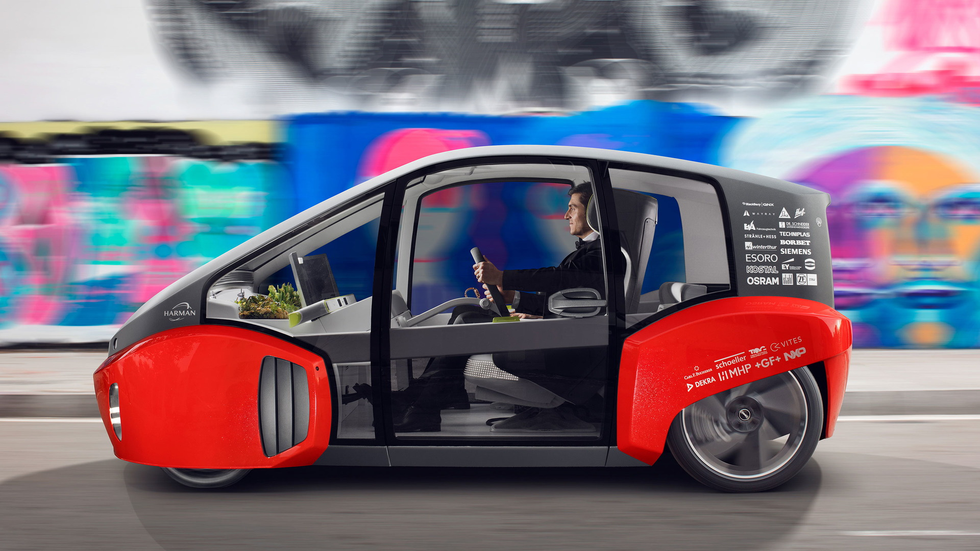 Rinspeed Oasis concept, 2017 Consumer Electronics Show