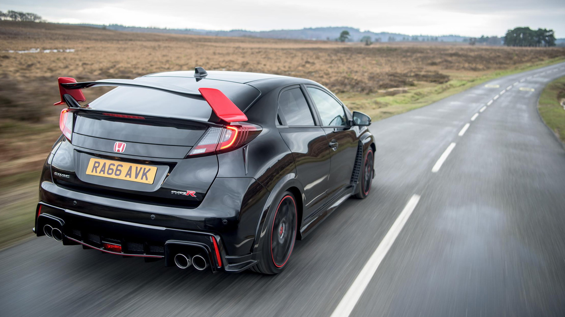 2017 Honda Civic Type R Black Edition