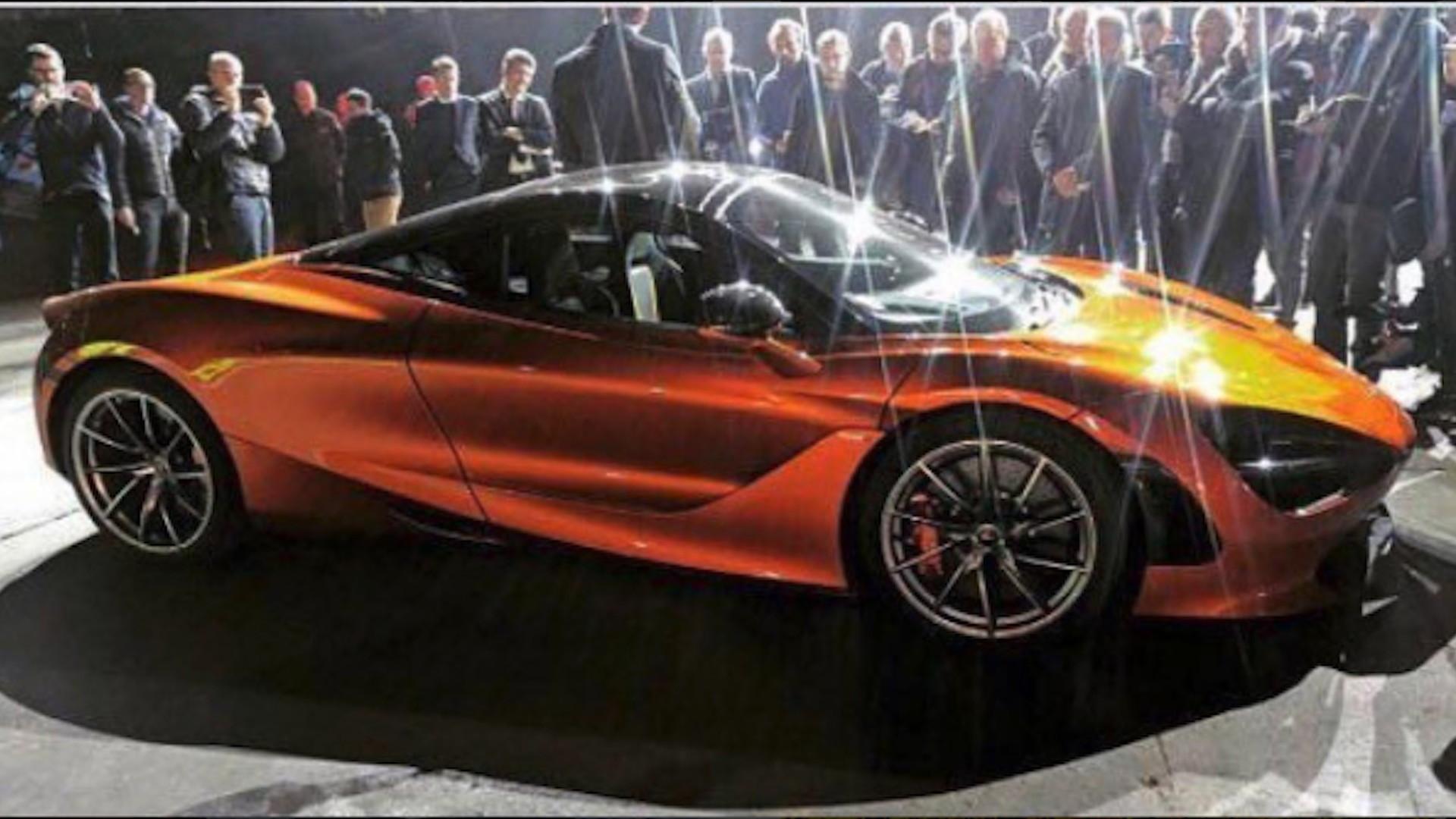 McLaren 720S leaked ahead of 2017 Geneva auto show debut - Image via Lamborghiniks